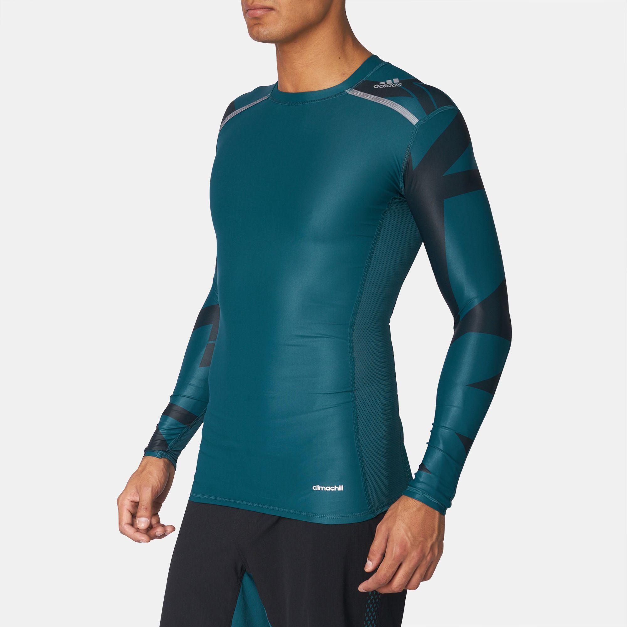 Adidas Techfit Freddo Gfx Manica Lunga T - Massimo Shirt T Shirt Al Massimo - eb15e0