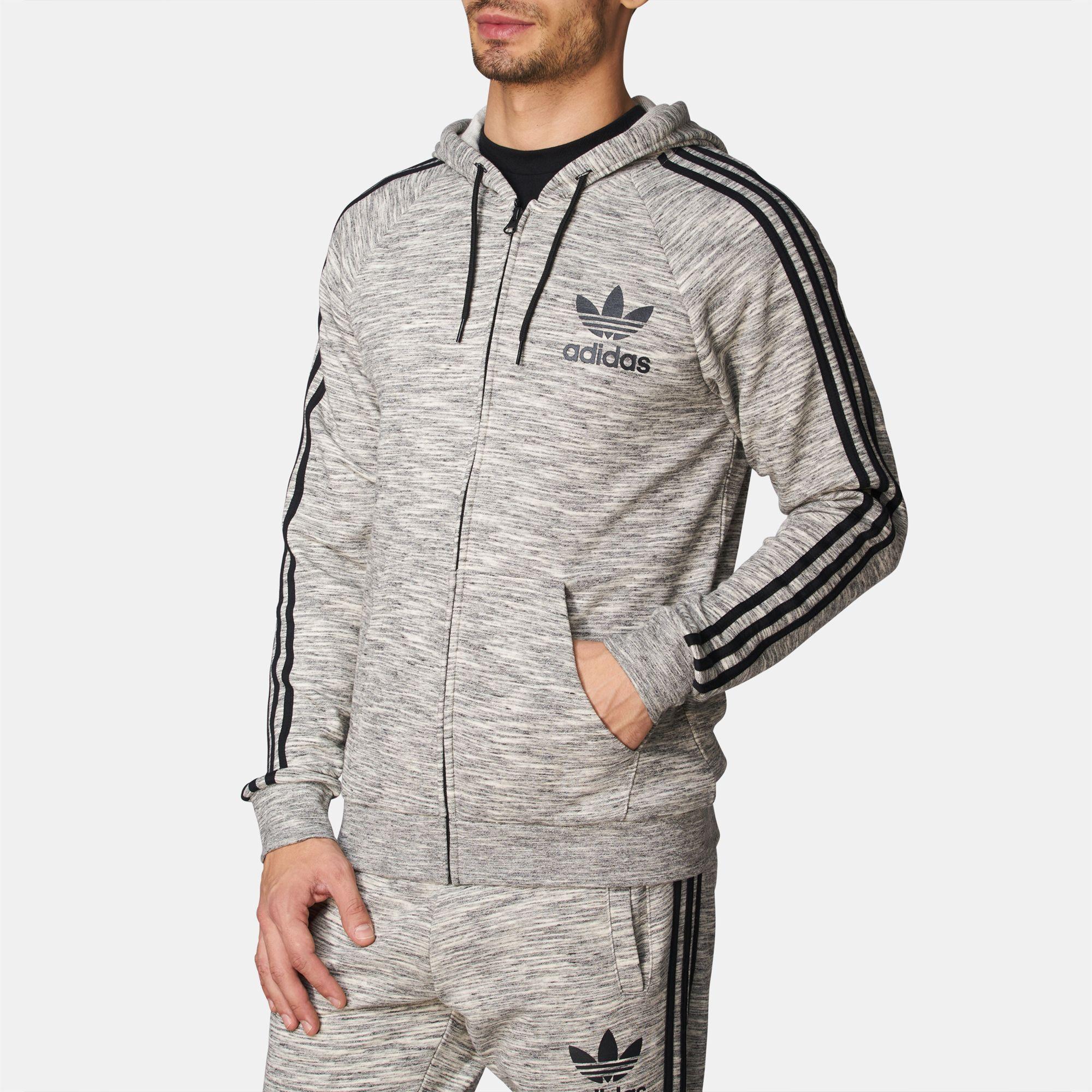 adidas Originals CLFN FT Zip Hoodie   Hoodies   Hoodies and