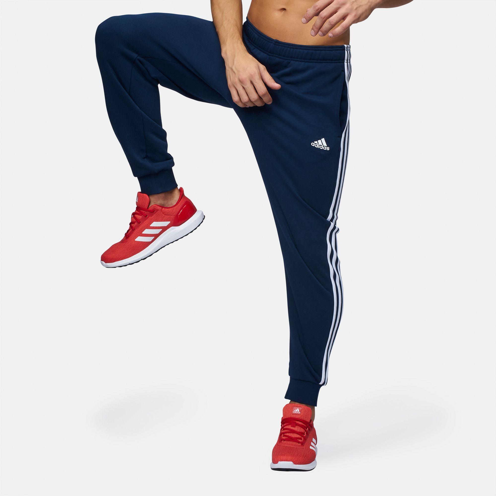 adidas essential 3 stripe cap