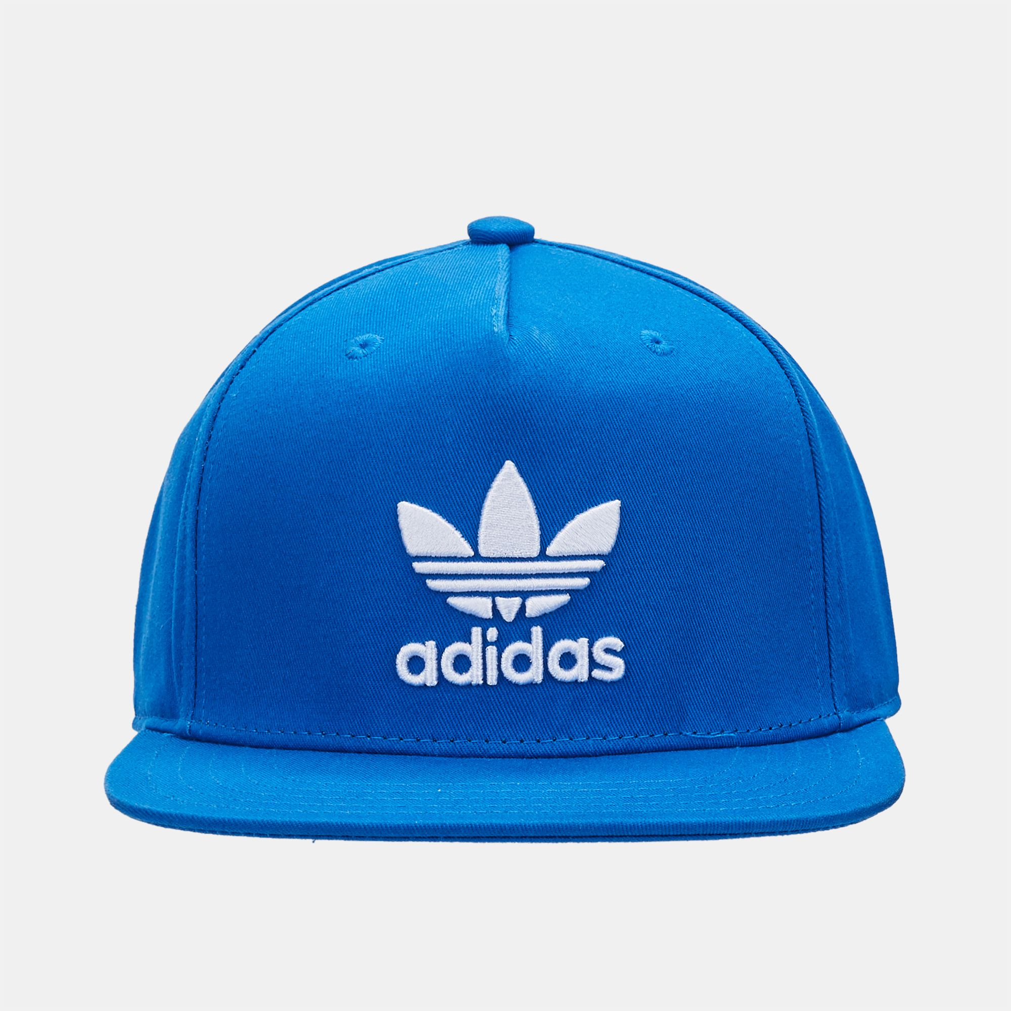 Shop Blue adidas Originals Flat Cap for Unisex by adidas Originals  8ad7b57d60b
