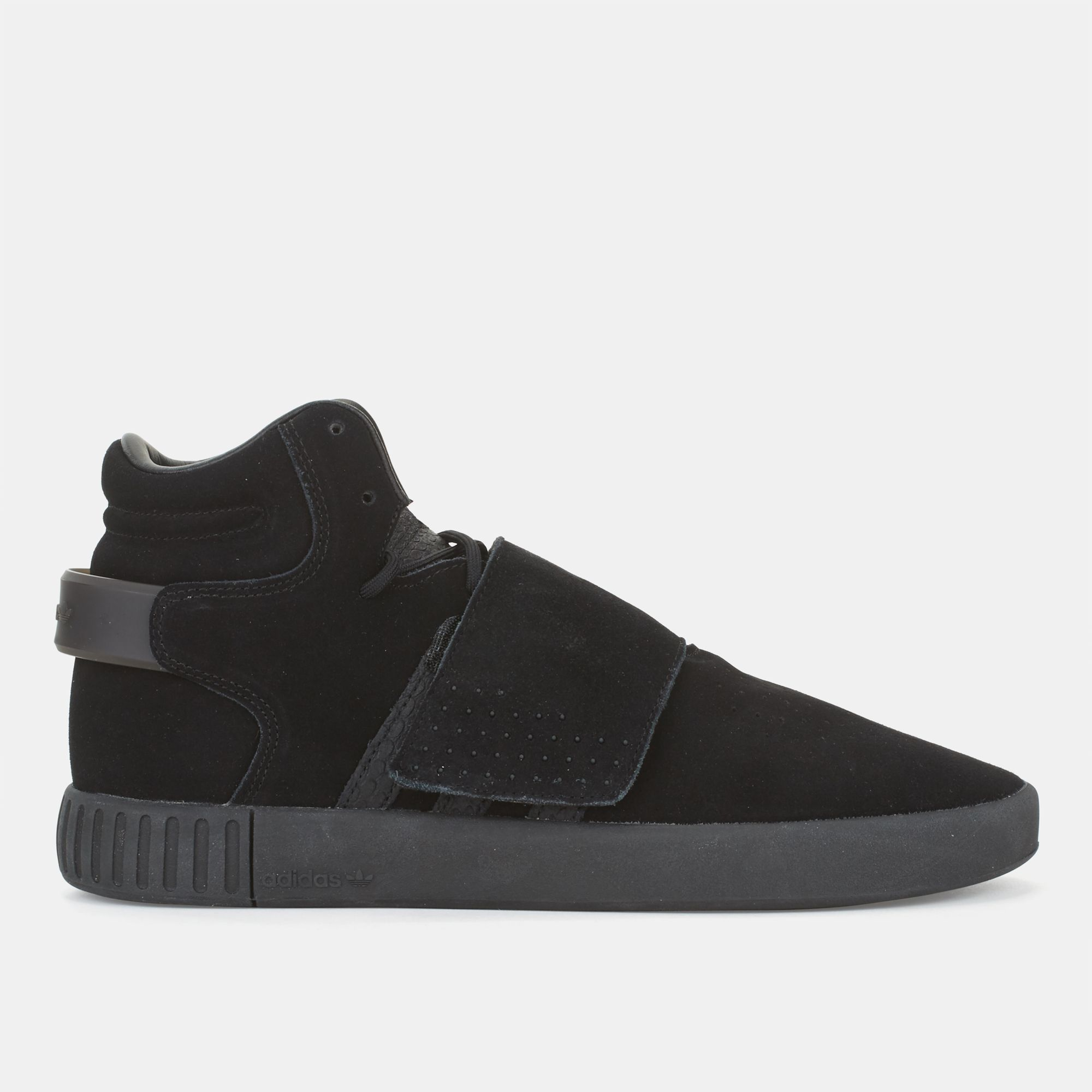 negozio nero adidas originali tubulare invasore cinghia per gli uomini da scarpa