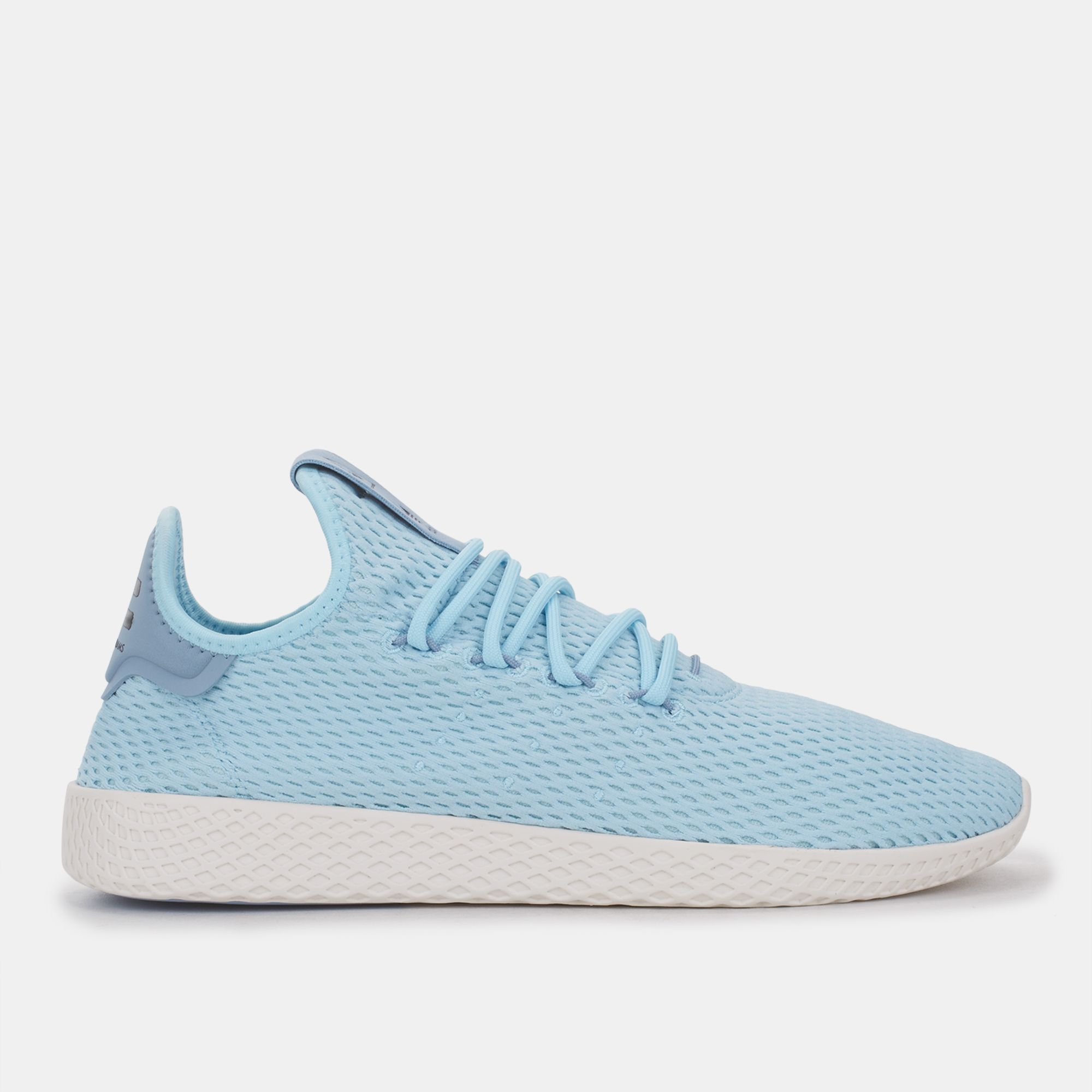 9f01e782b Shop Blue adidas Originals Pharrell Williams Tennis HU Shoe for Mens ...