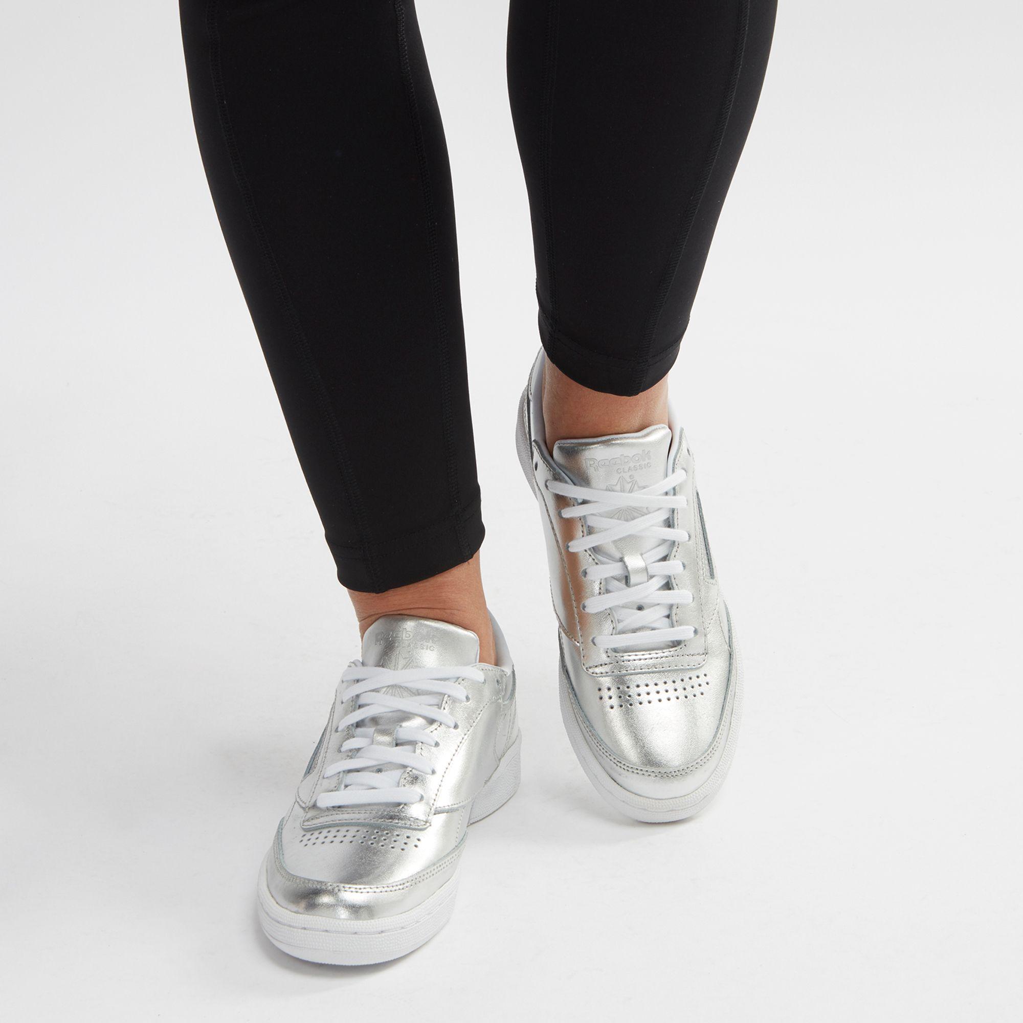 831a55dae7819 Shop Metallic Reebok Club C 85 S Shine Shoe for Womens by Reebok - 0 ...