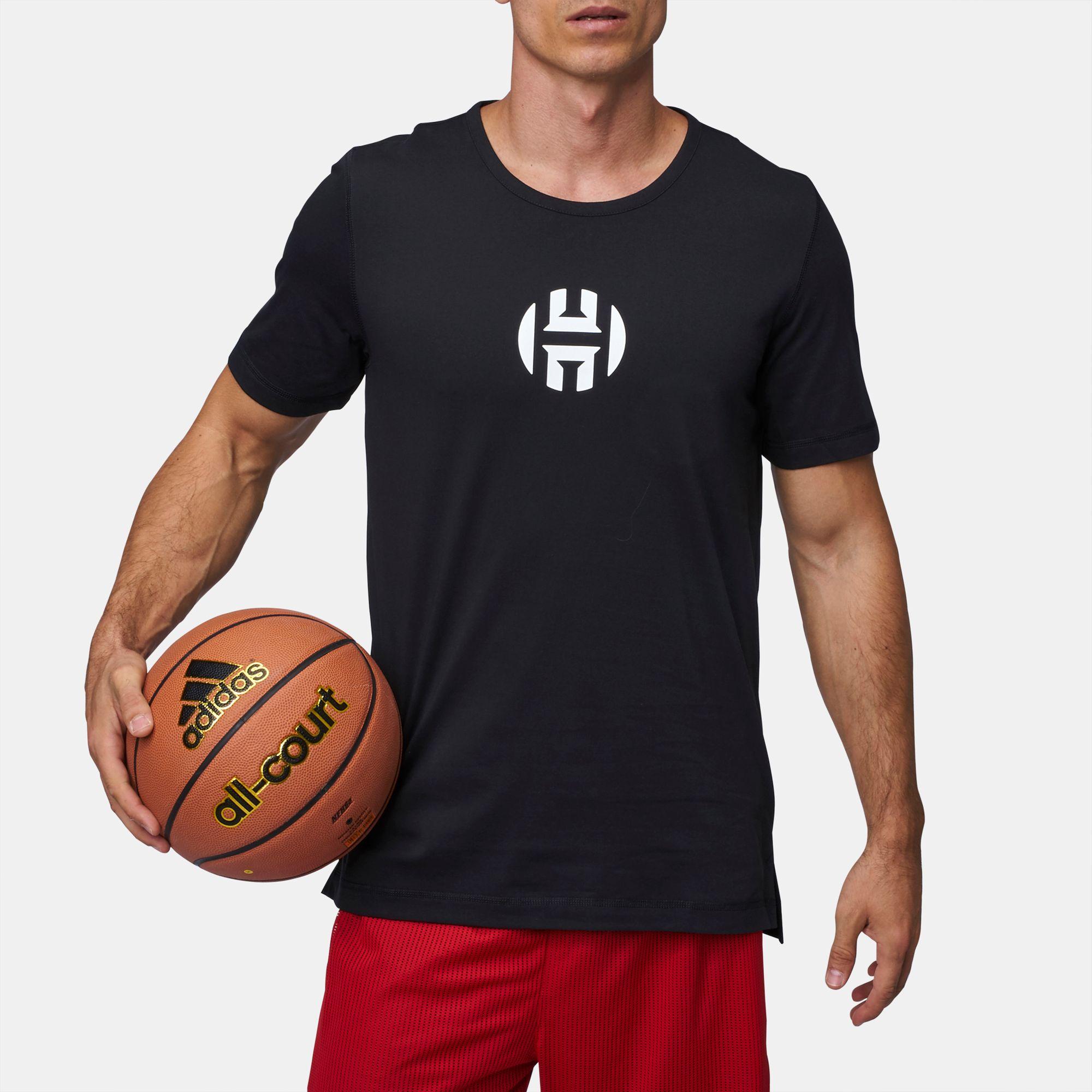 low priced 8bad3 464eb adidas Harden Logo T-Shirt | T-Shirts | Tops | Clothing ...