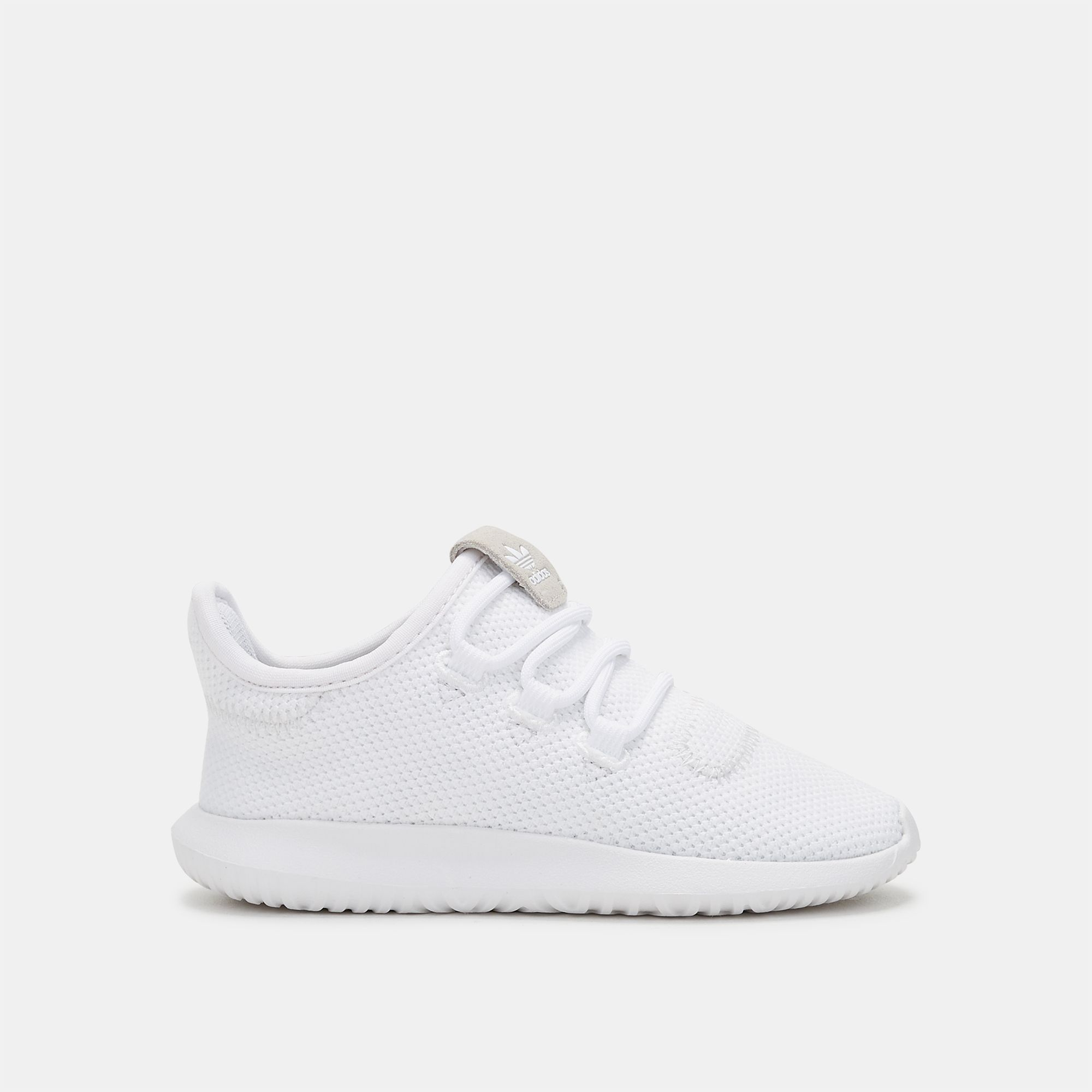719181e5069f Shop White adidas Originals Kids  Tubular Shadow Shoe for Kids by ...