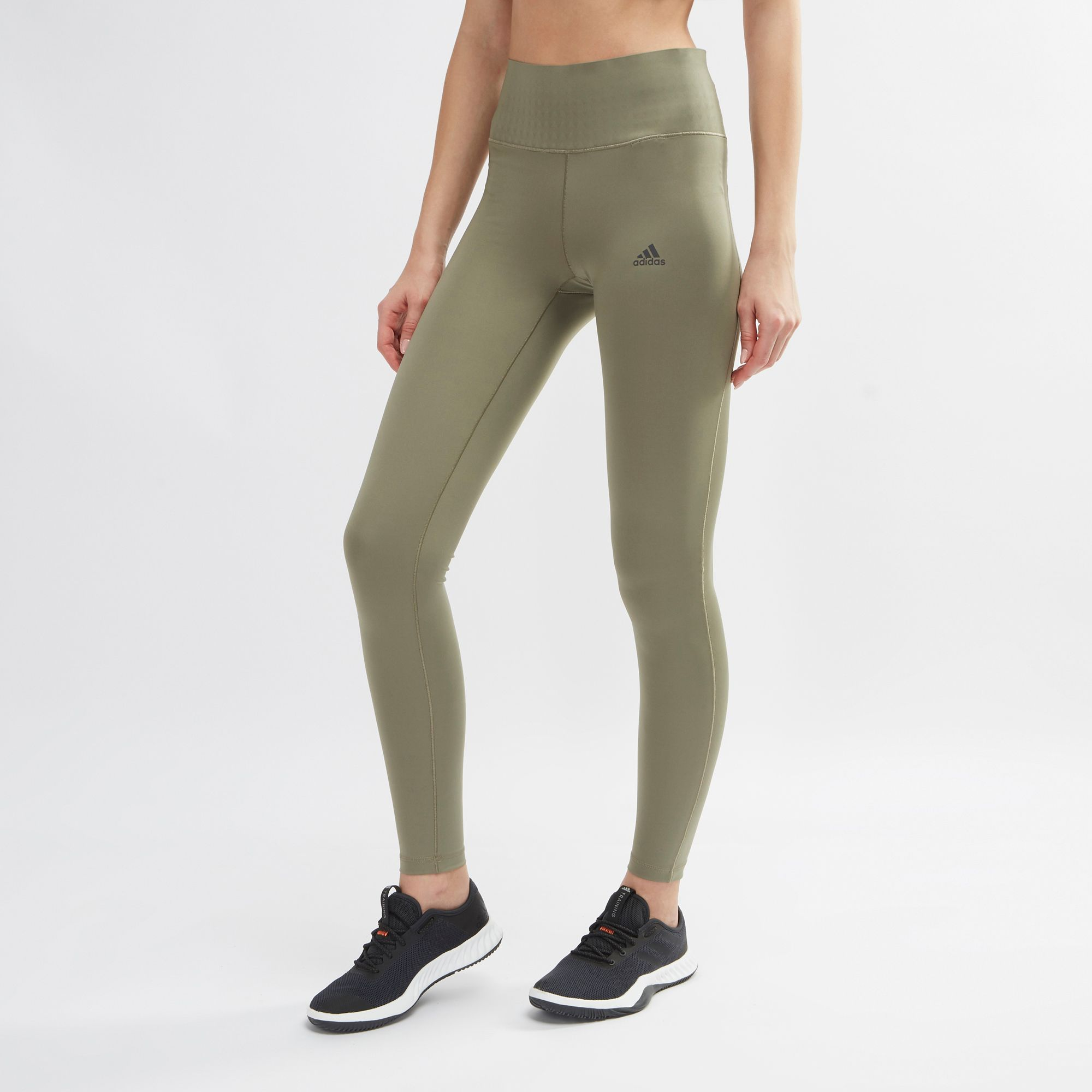 Adidas Ultimate Womens Leggings Shop Green Climalite By 34 For 5EUn6q7