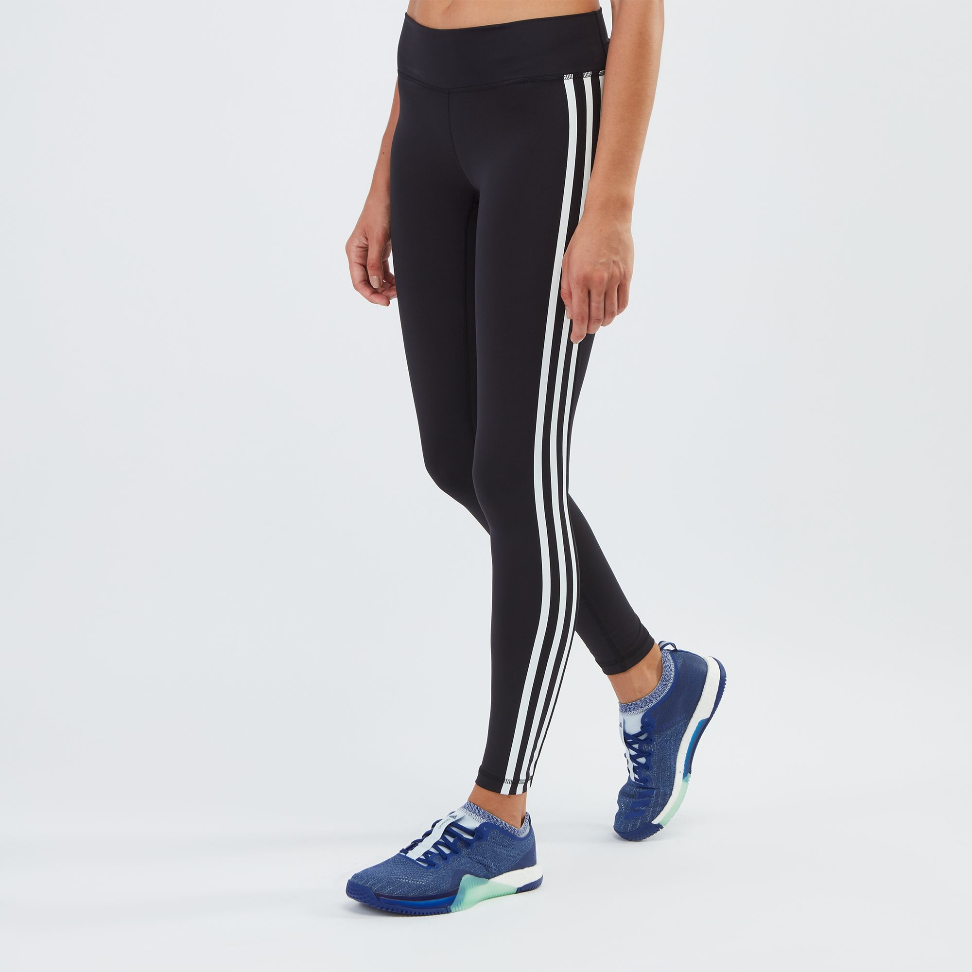 f134a9d2ad7a59 adidas Believe This 3-Stripes Leggings | Full Length Leggings ...