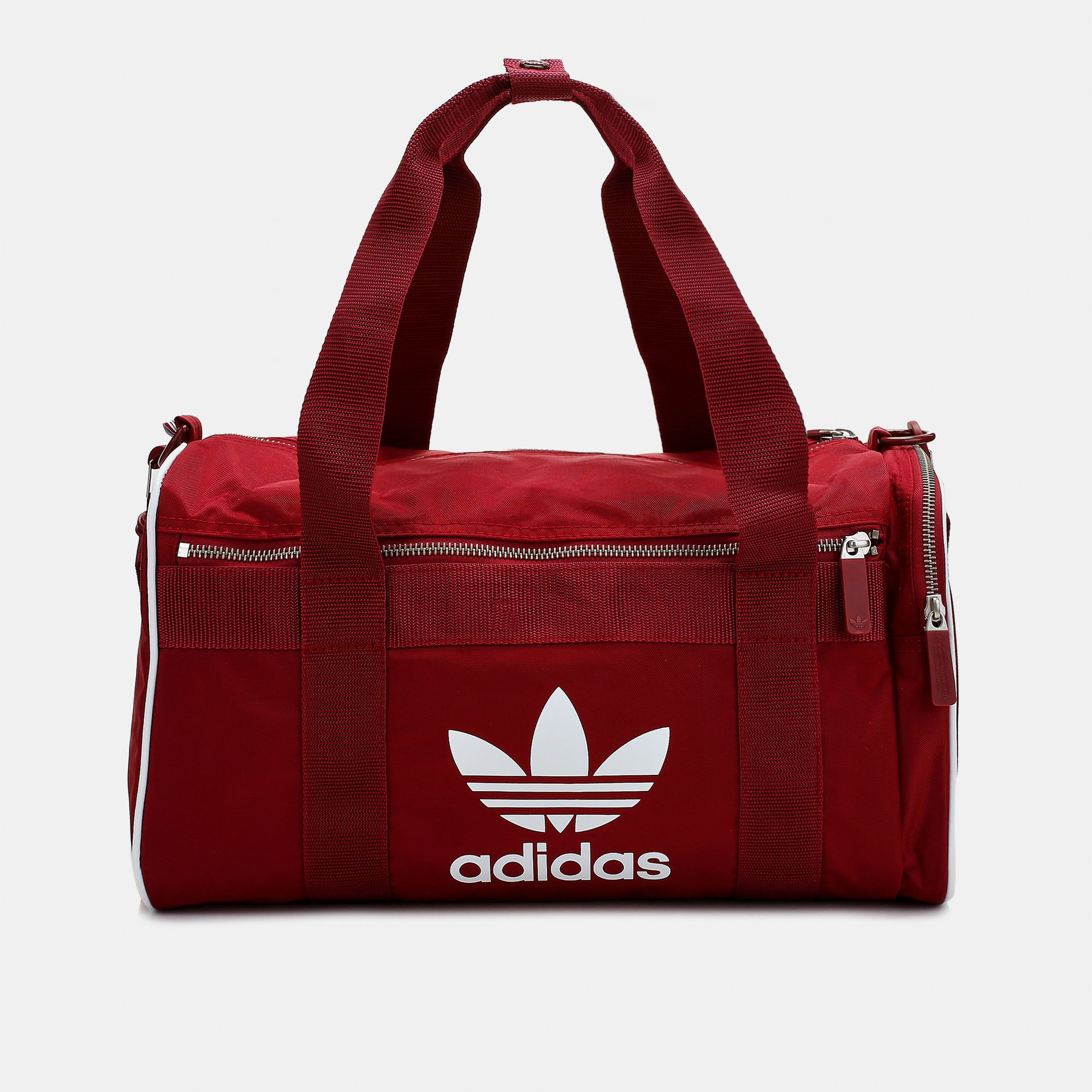 Shop Red adidas Originals adicolor Duffel Bag for Unisex by adidas ... a56f24657e34b