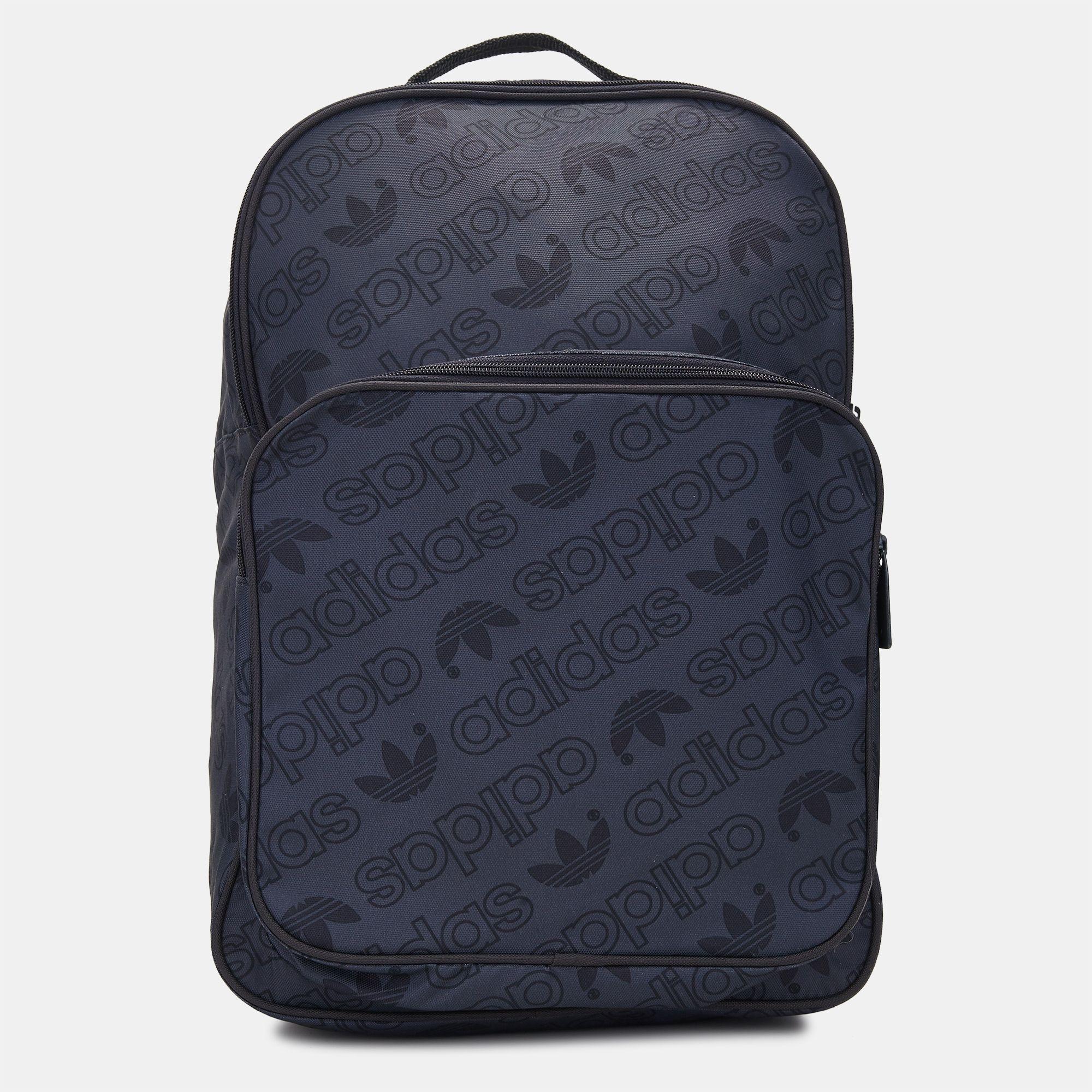 Tienda gris adidas Originals Classic Trefoil mochila Unisex por