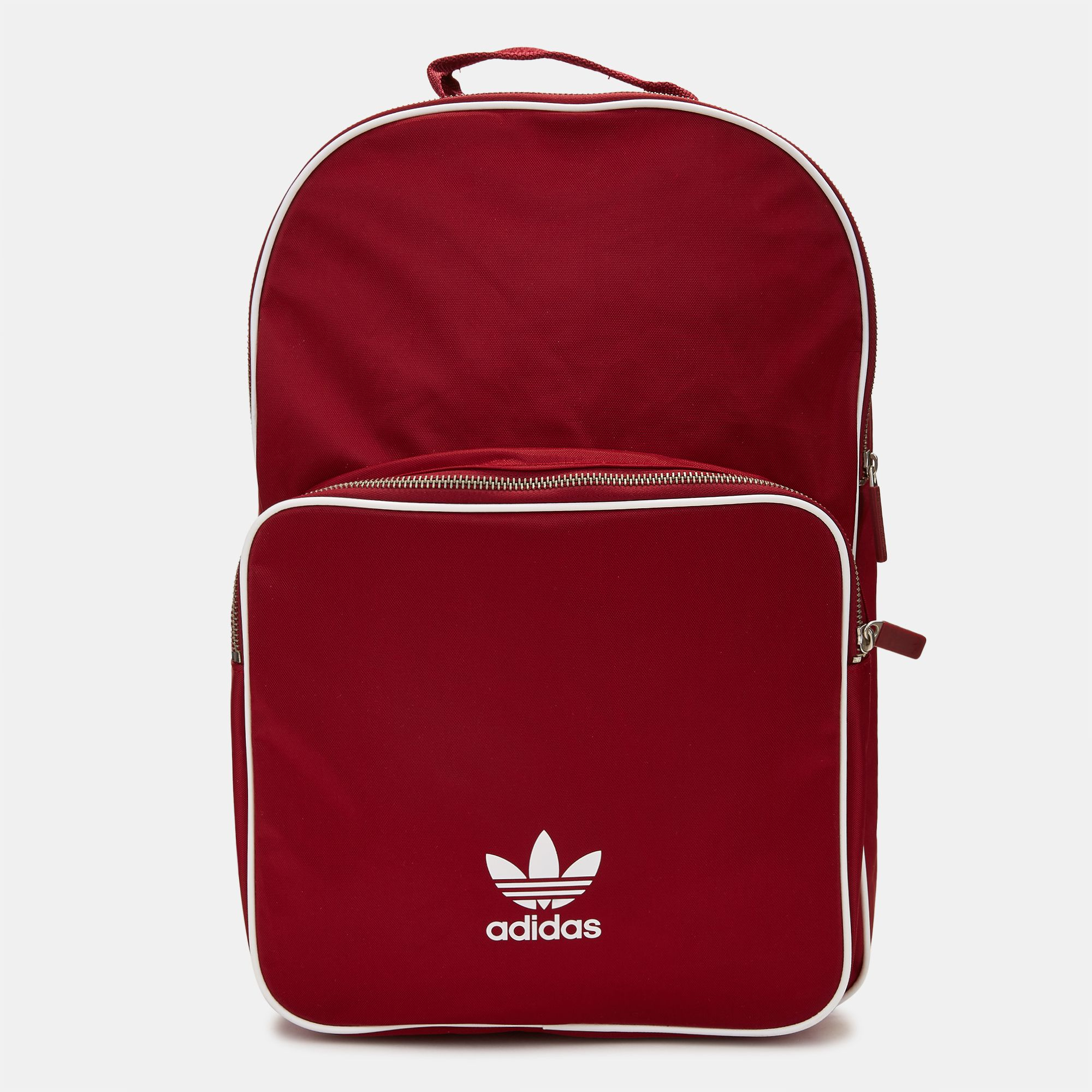 Shop Red adidas Originals adicolor Classic Backpack for Unisex by ... fcf248745d80d