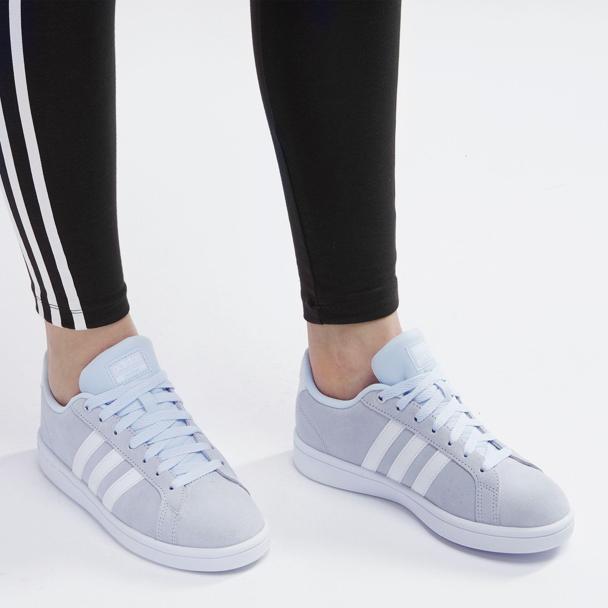 negozio blu adidas cloudfoam vantaggio scarpa per donne dall'adidas sss