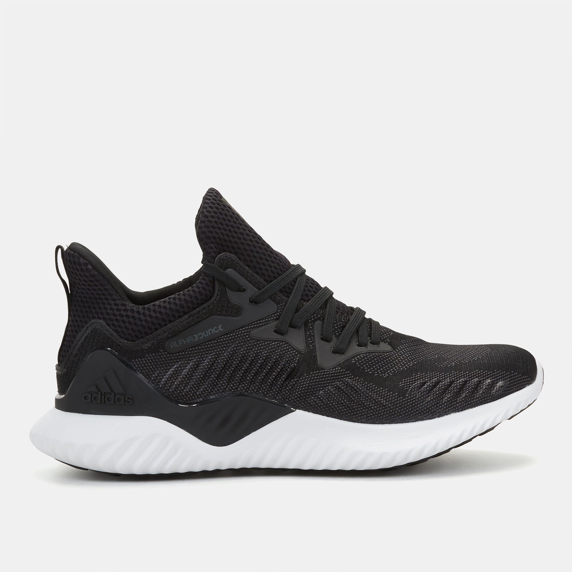 Negozio nero adidas alphabounce oltre scarpa per donne dall'adidas sss