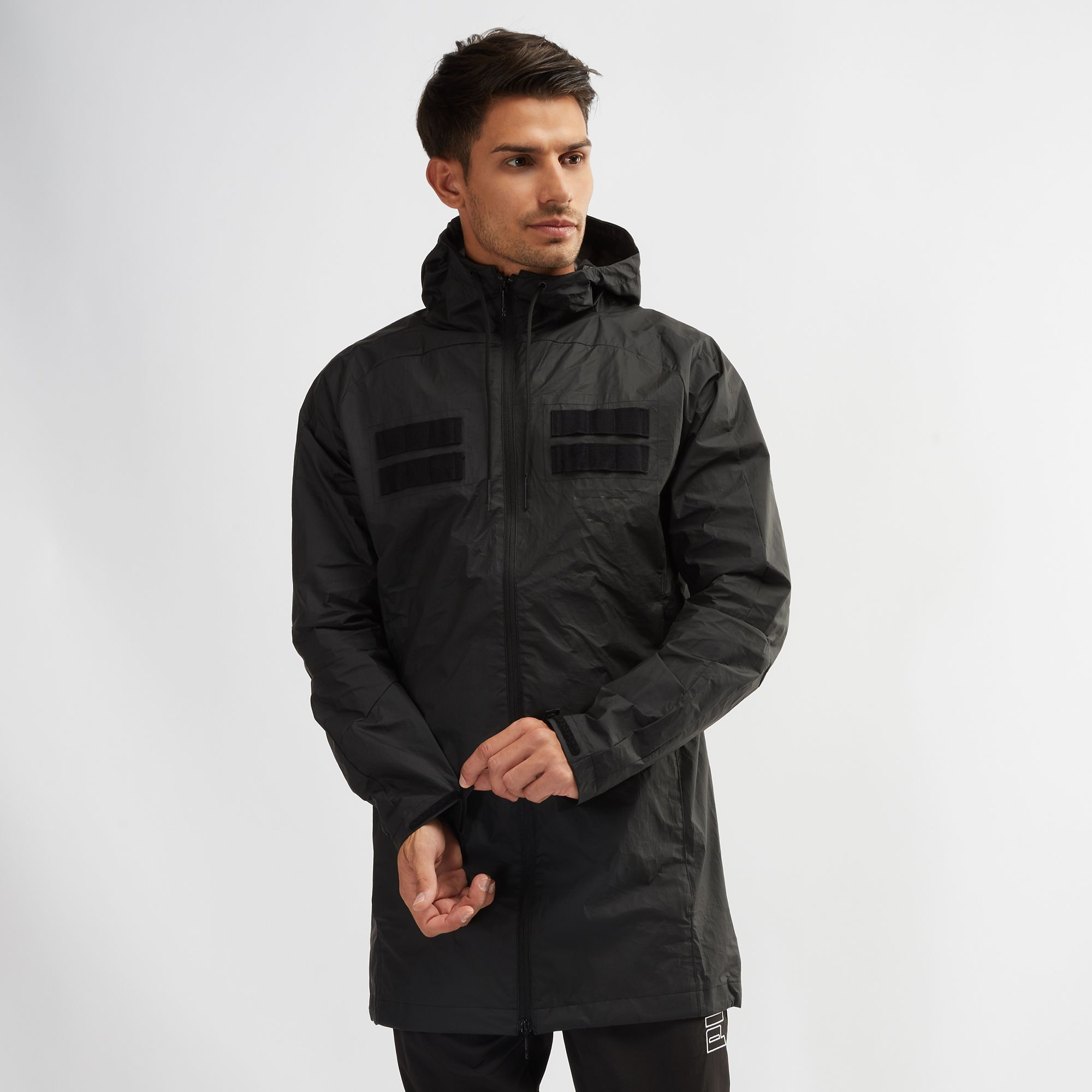 Shop Black PUMA Pace LAB Hooded Jacket for Mens by PUMA  ac45186767e6e