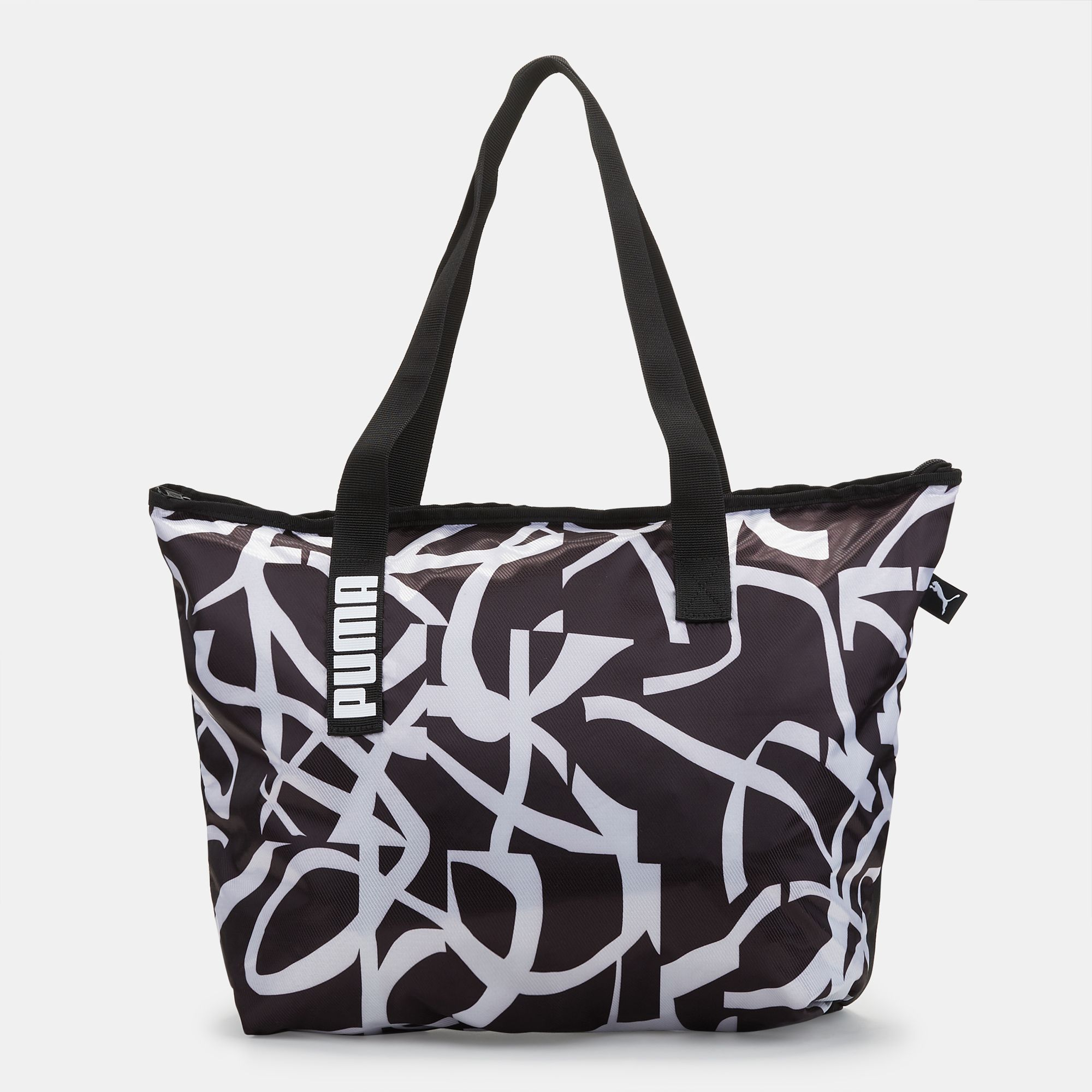 302a635e66378 PUMA Core Active Shopper Bag - Black