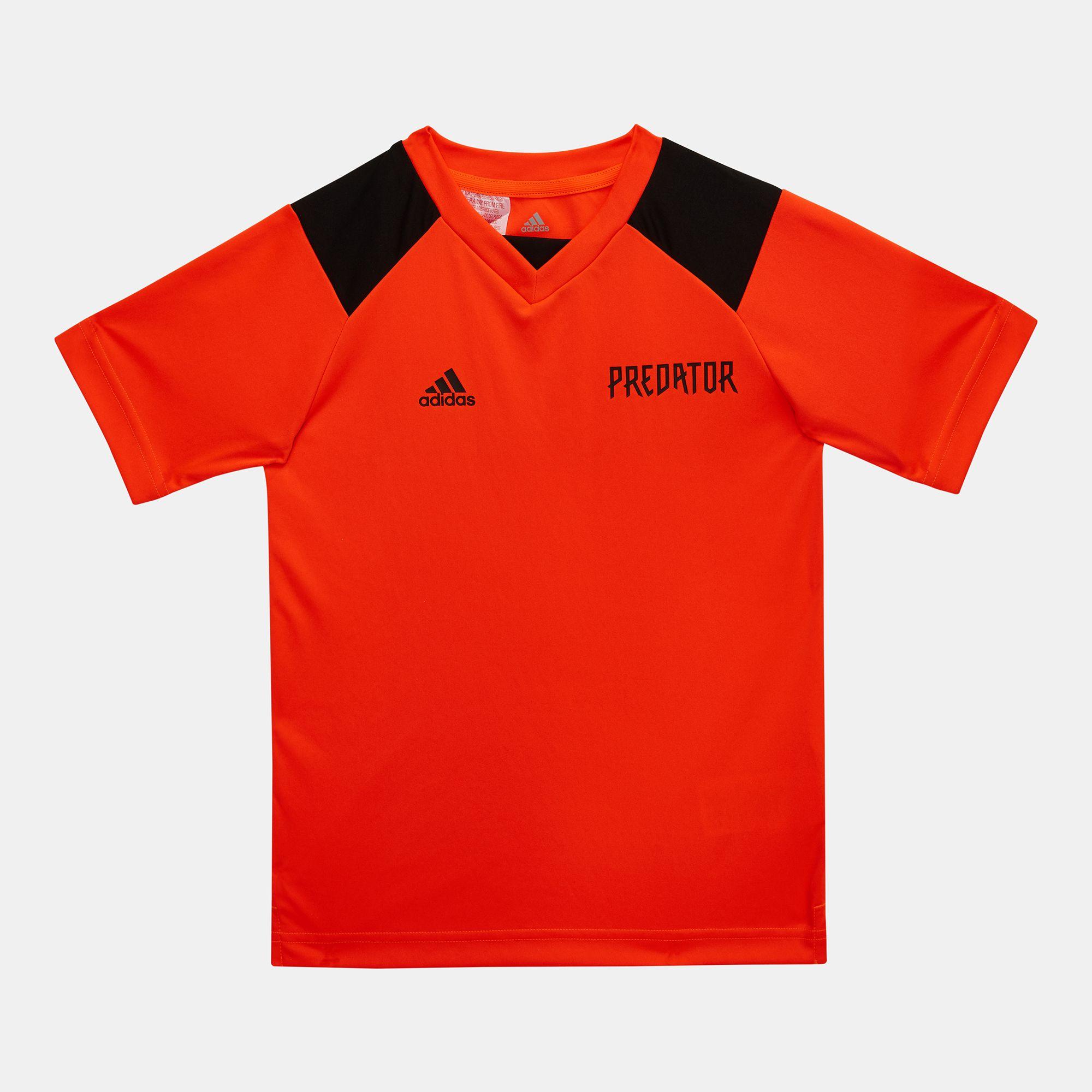 88956fbd4cf7 Shop Orange adidas Kids' Predator Football Jersey for Kids by adidas | SSS