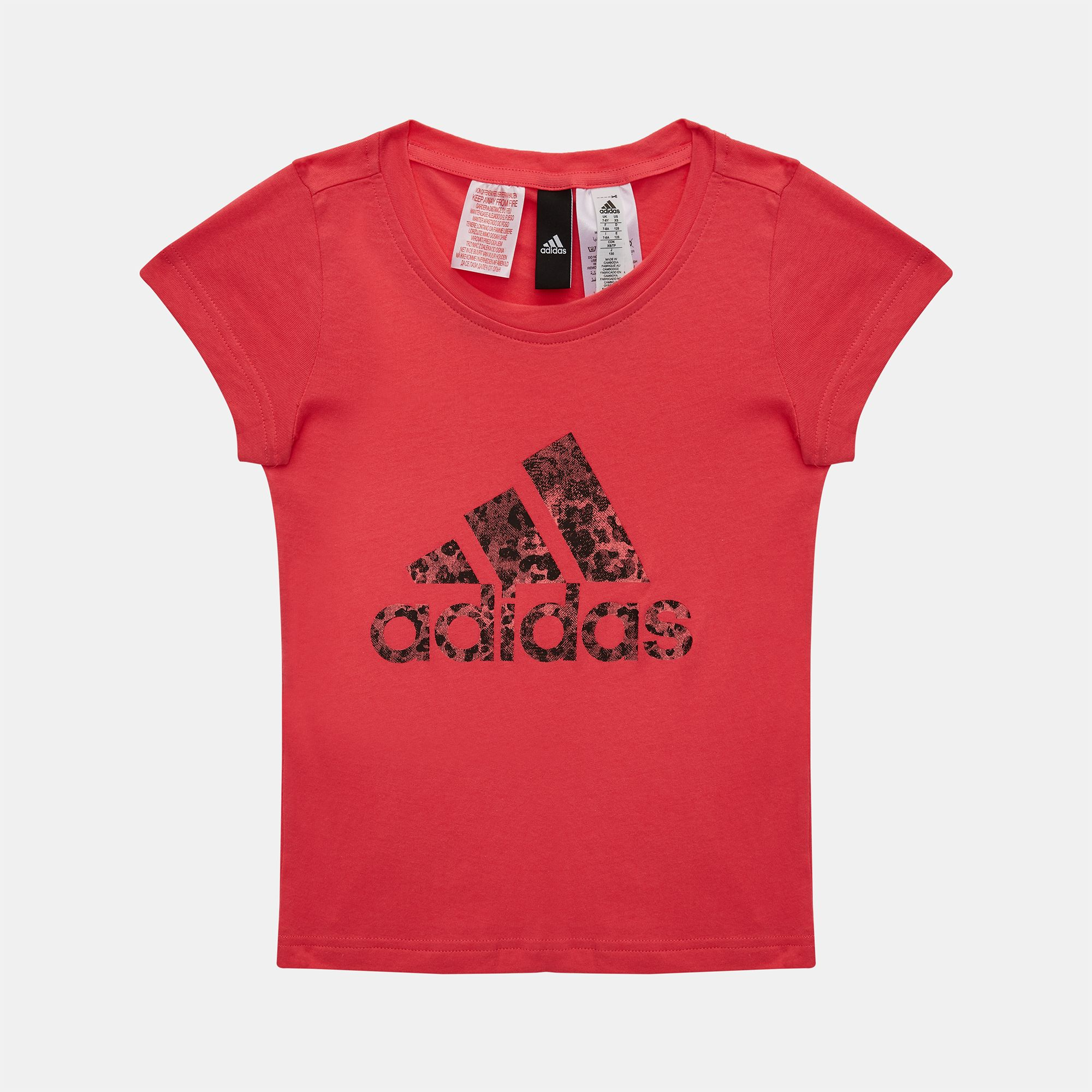 Shop Pink adidas Kids' Essentials Performance Logo T Shirt