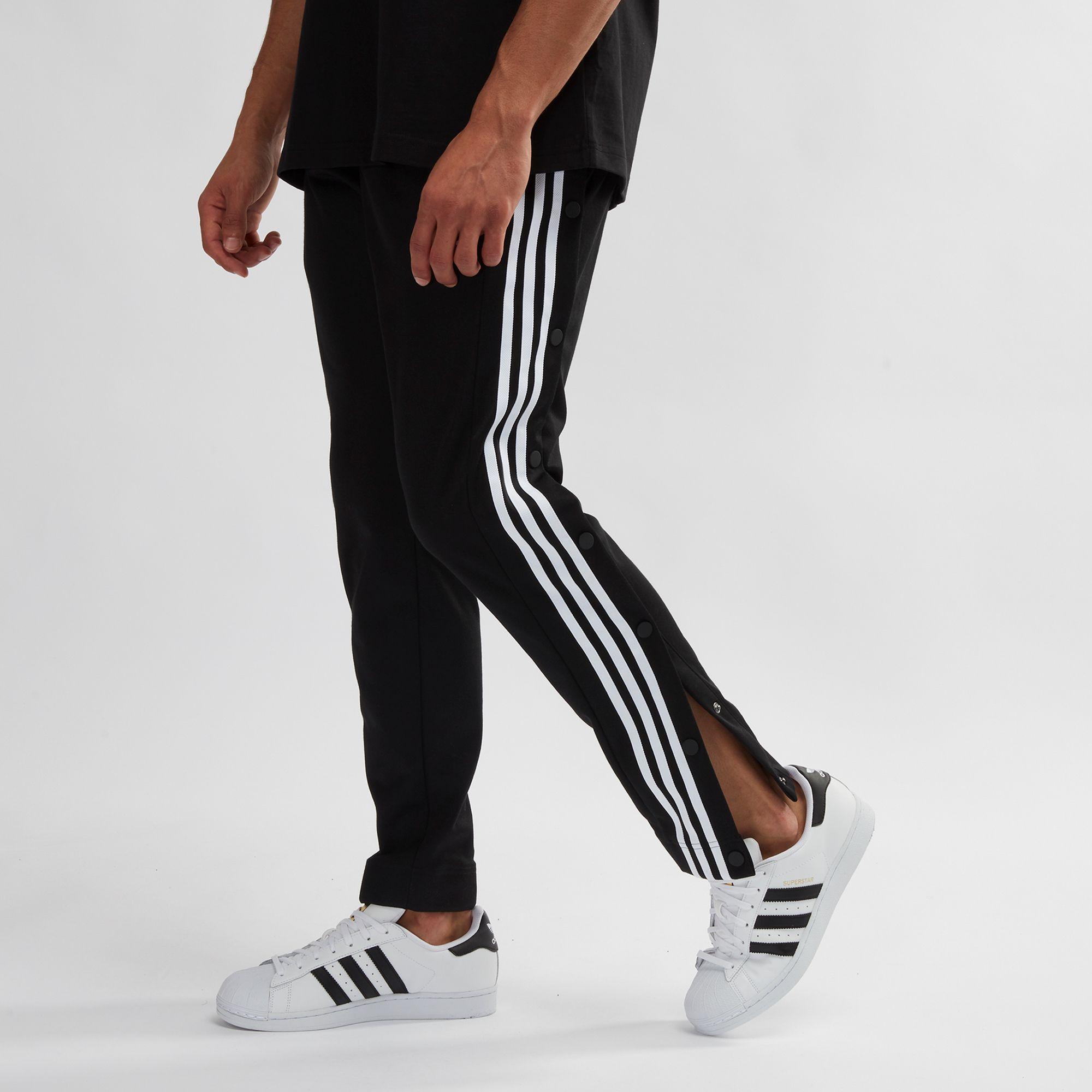 Compra Adidas Originals Adicolor negro adibreak Snap pantalones negro