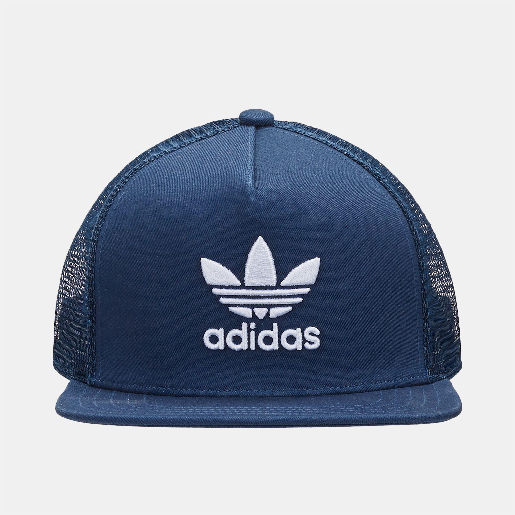 5b122a30 adidas Originals Trefoil Trucker Cap | Caps | Caps & Hats ...
