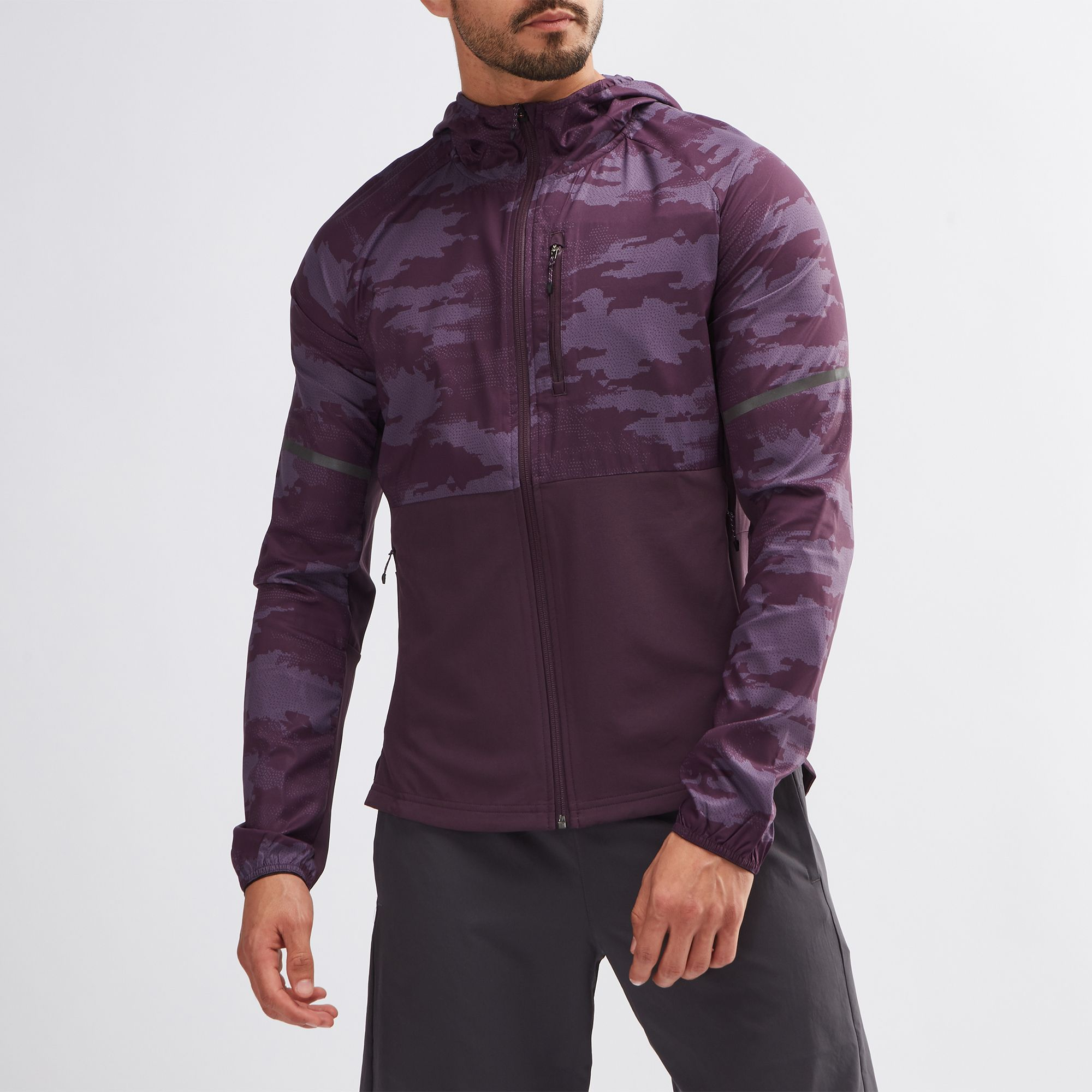 adidas Ultra Graphic Running Jacket   Jackets   Clothing