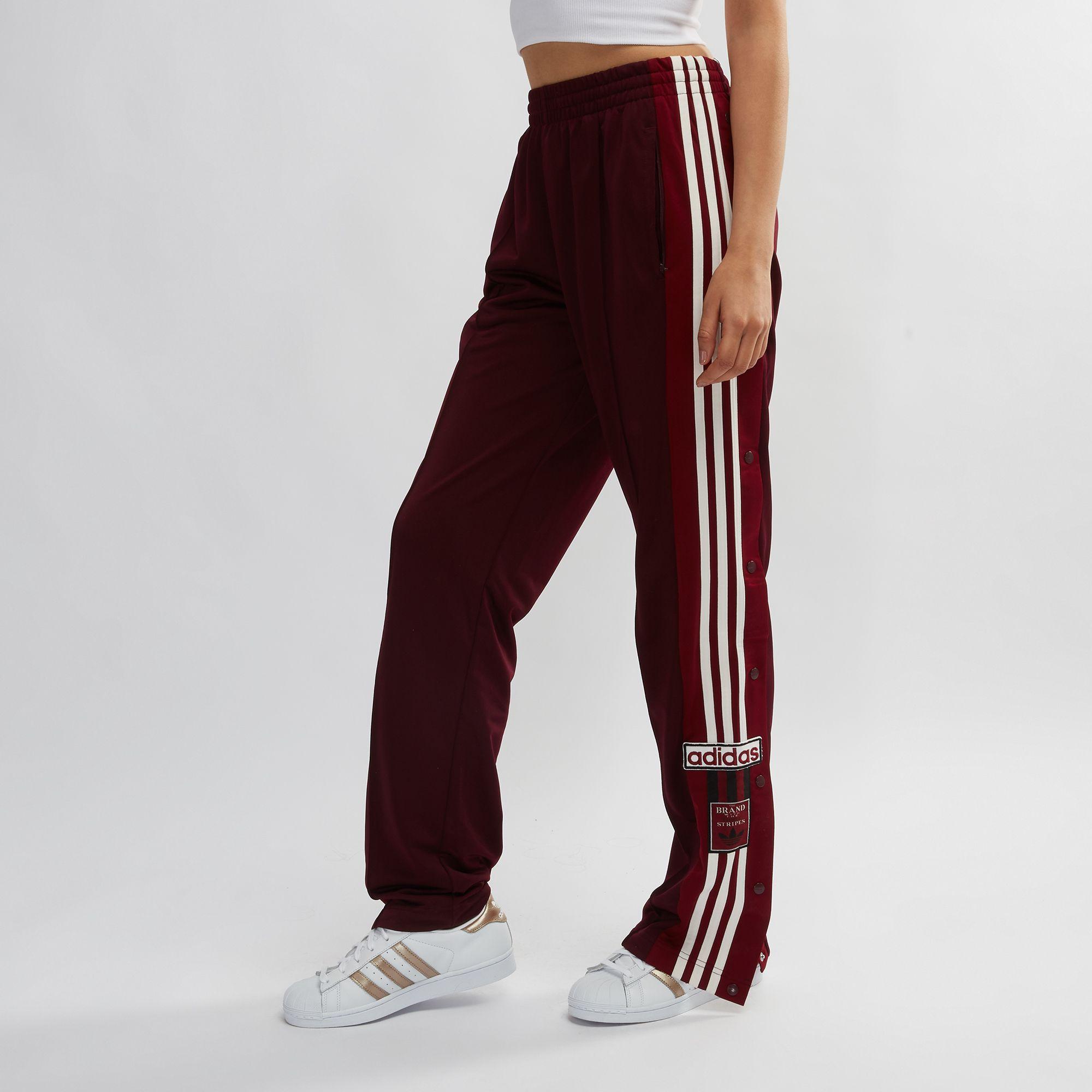 2a1e12fea086e8 Shop Red adidas Originals Adibreak Popper Pants for Womens by adidas ...