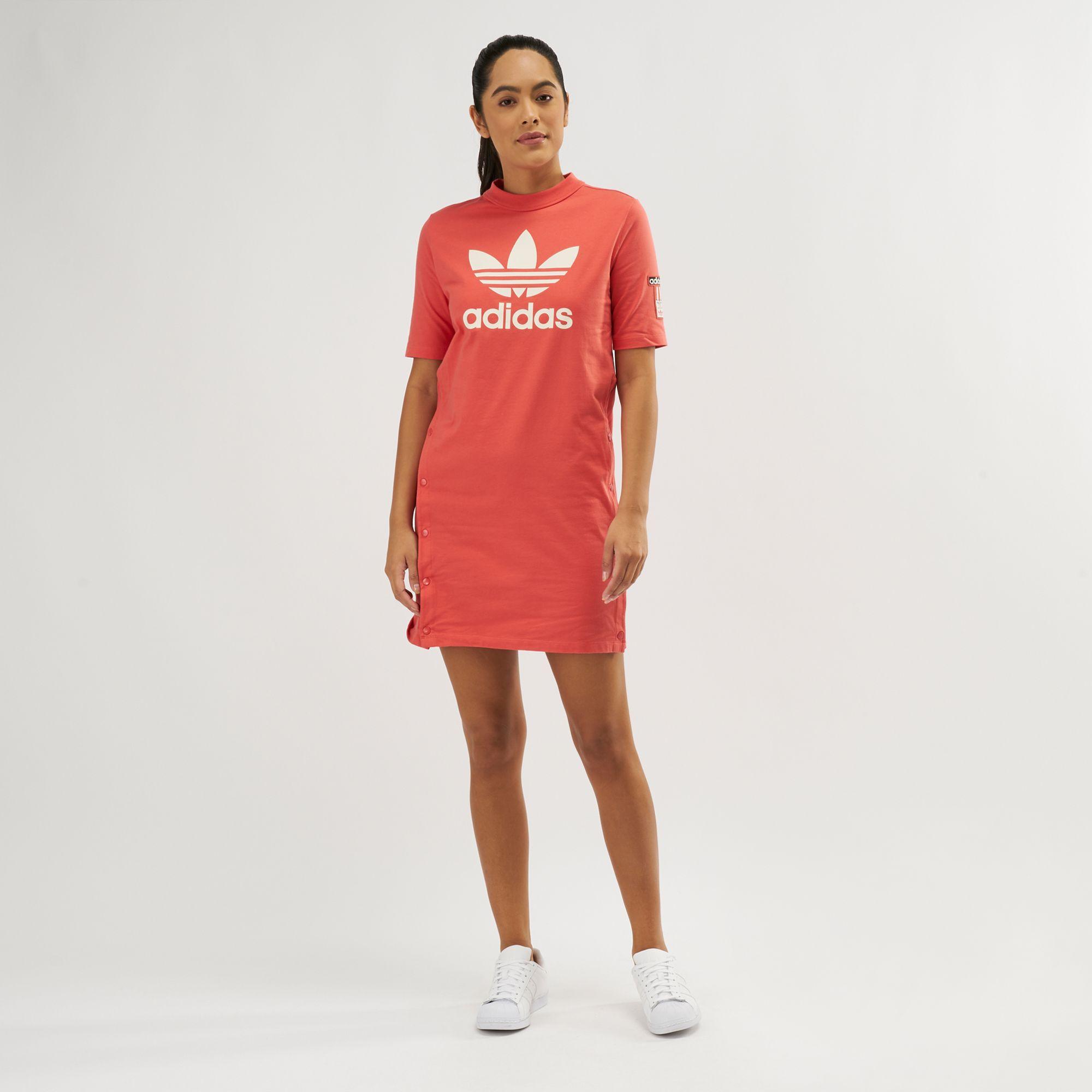 cbb3f78d9c2e adidas Originals Adibreak Tee Dress