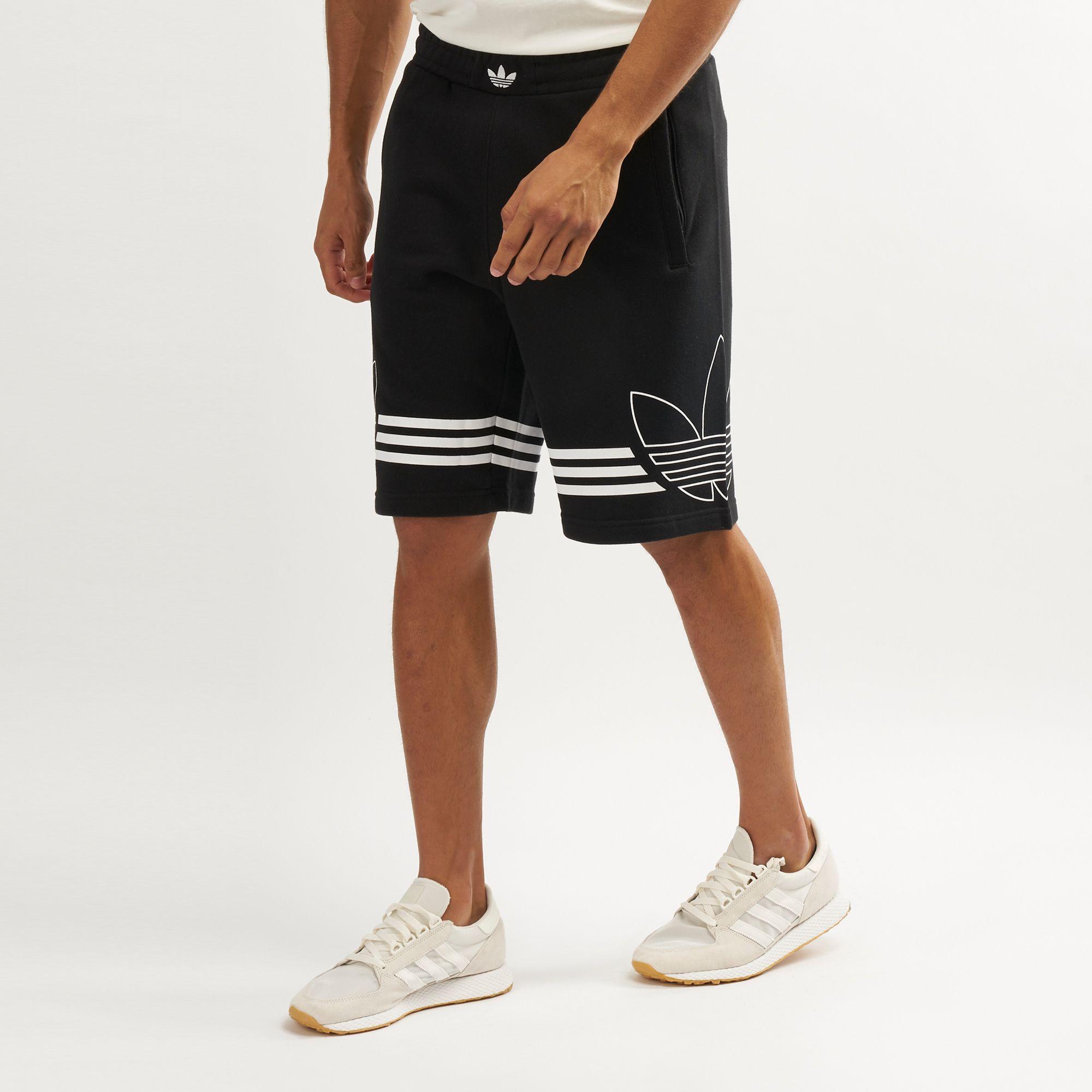 adidas Originals Men's Trefoil Logo Outline Short | Shorts