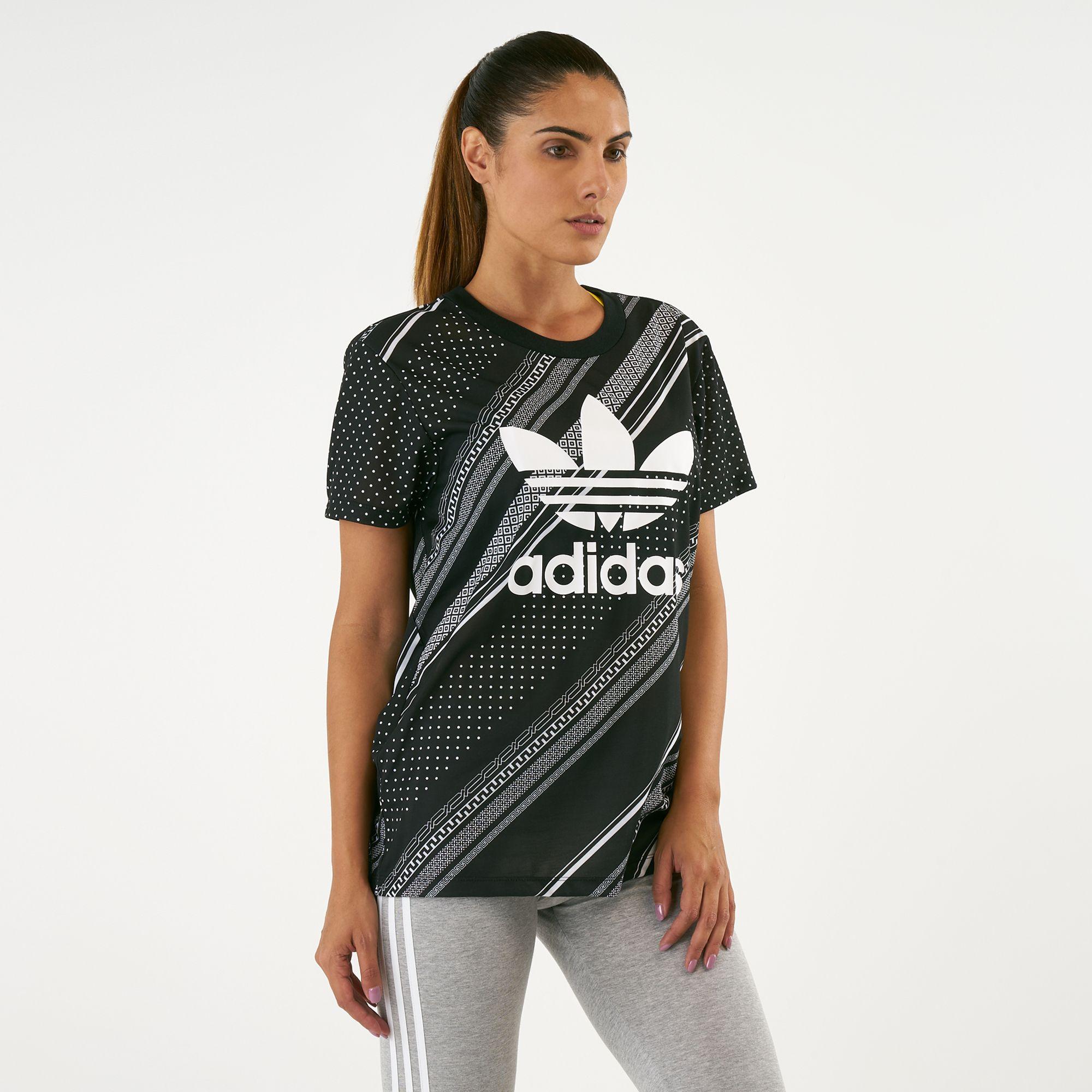 0f9bfb0f adidas Originals Women's Boyfriend Trefoil T-Shirt | T-Shirts | Tops ...