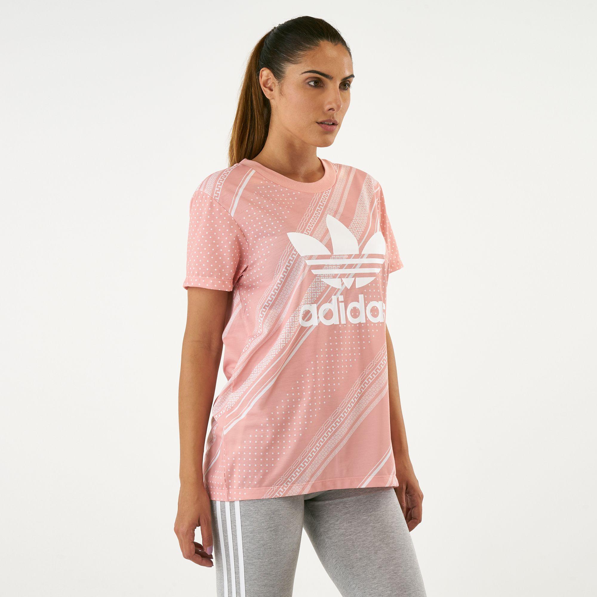 32bbc943 adidas Originals Women's Boyfriend Trefoil T-Shirt | T-Shirts | Tops ...