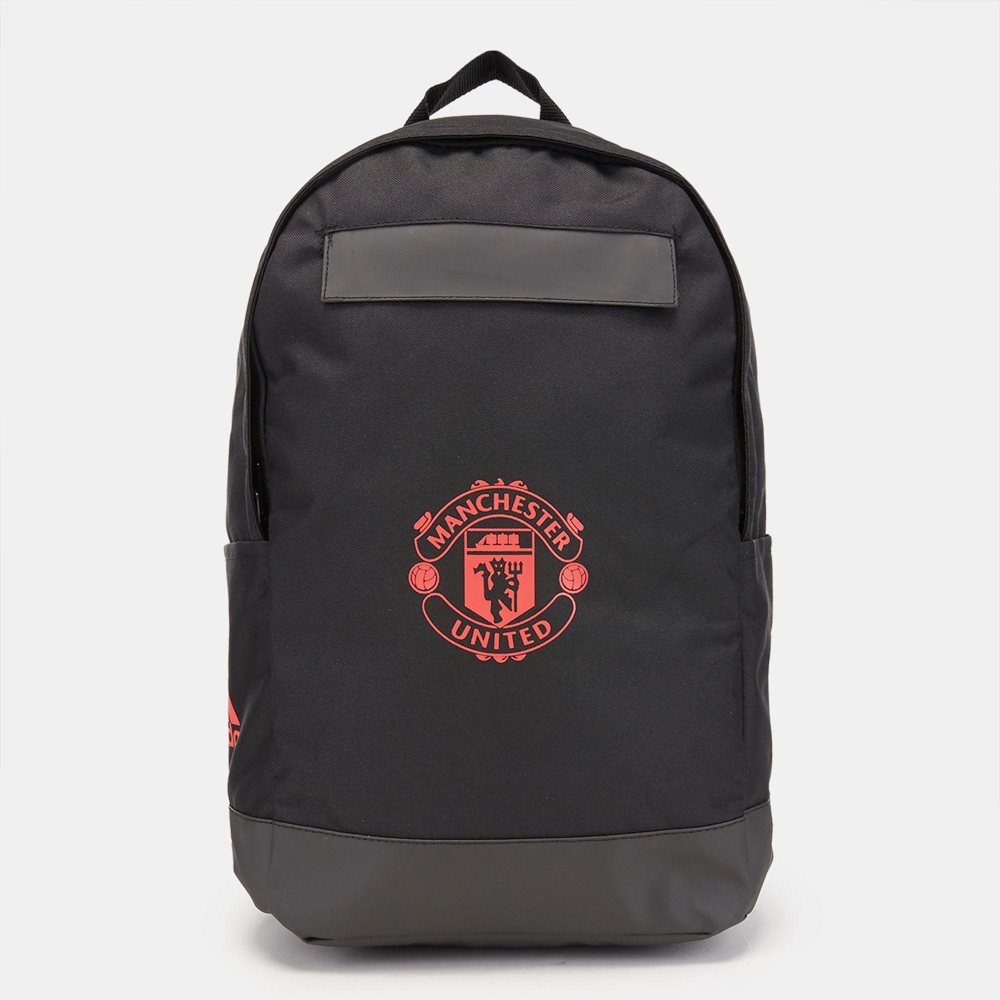 adidas Manchester United FC Backpack - Black aa7be421cdaae
