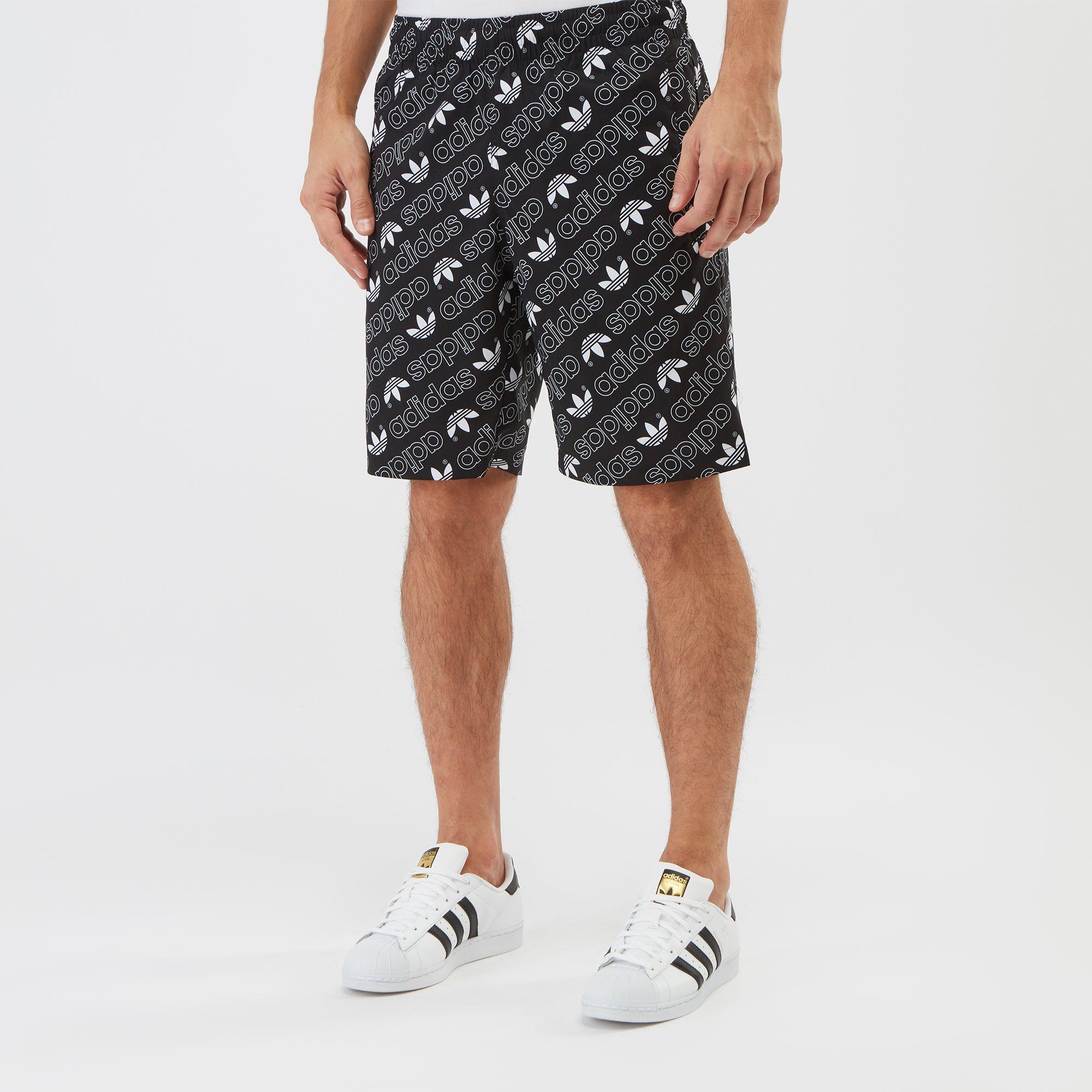 Shorts Monogram adidas Grey Men