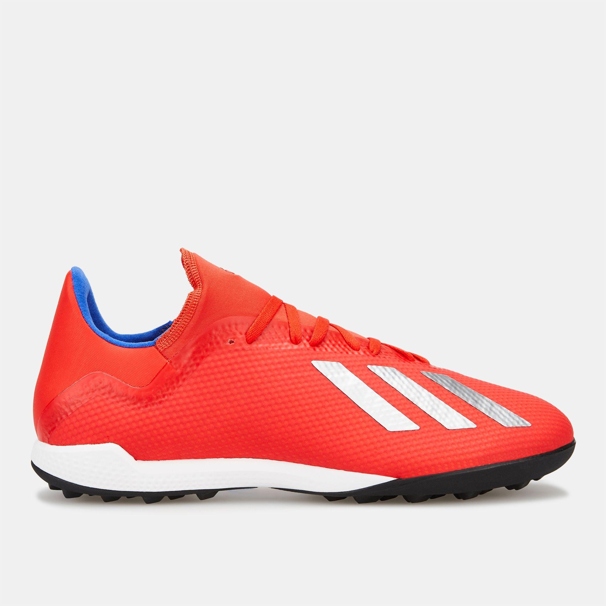 6216609fa adidas Men s Exhibit Pack X Tango 18.3 Turf Football Shoe