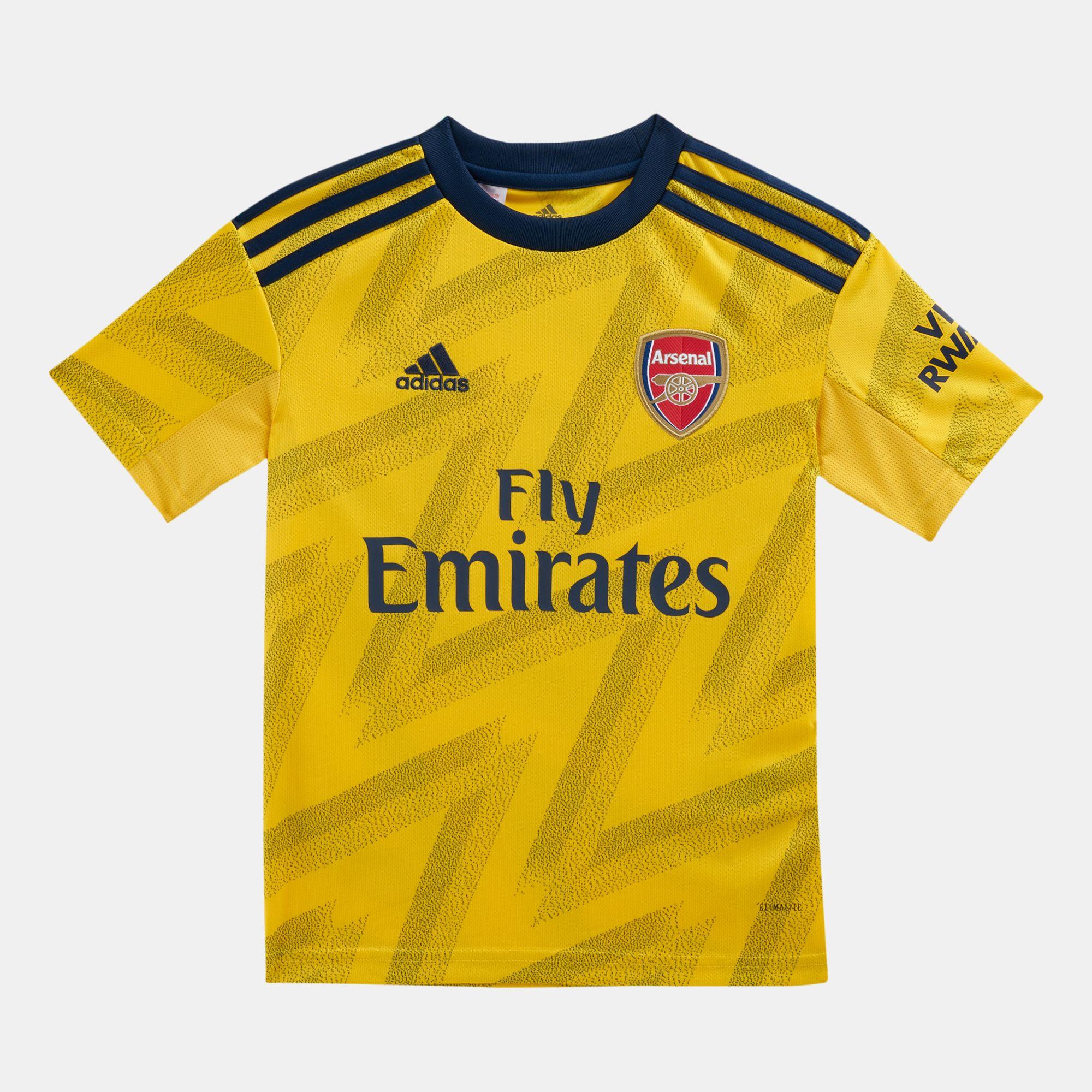 pretty nice 44855 fb34c adidas Kids' Arsenal Away Jersey - 2019/20 (Older Kids)