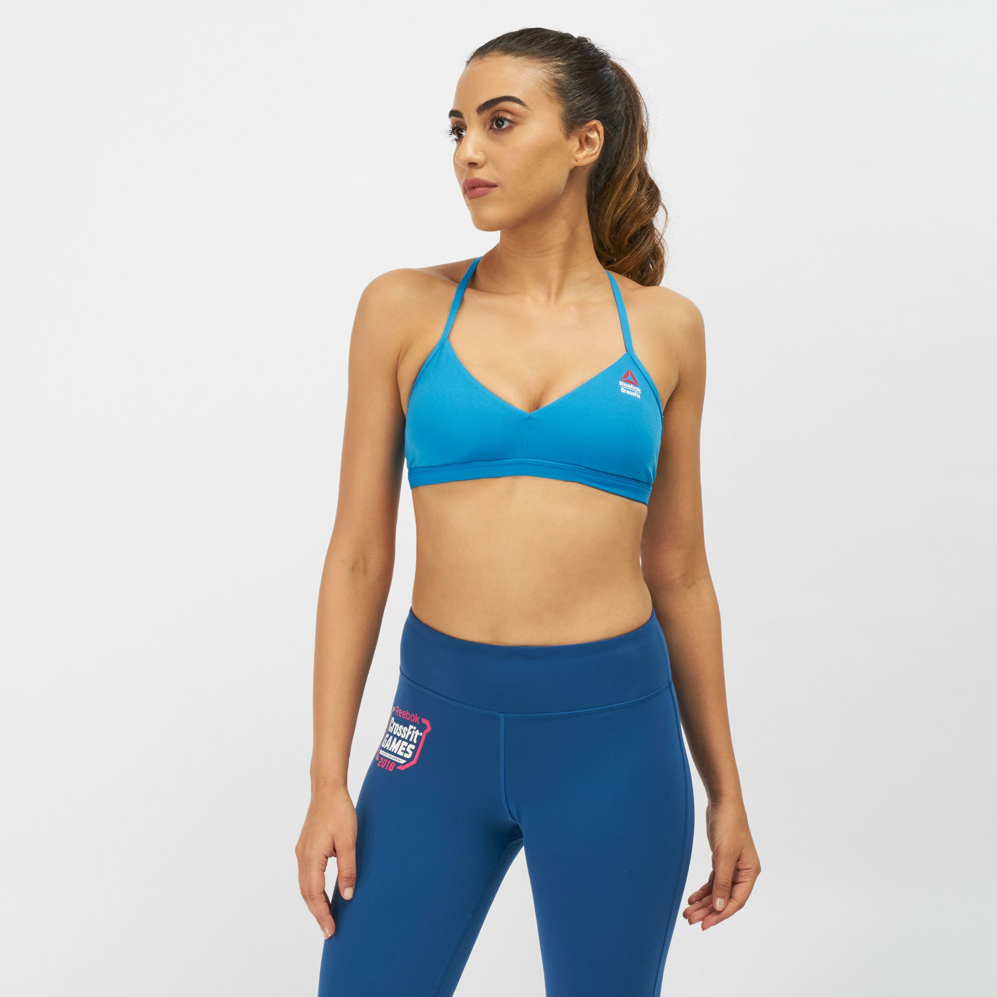 b8557303dadd6 Reebok CrossFit Micro Sports Bra