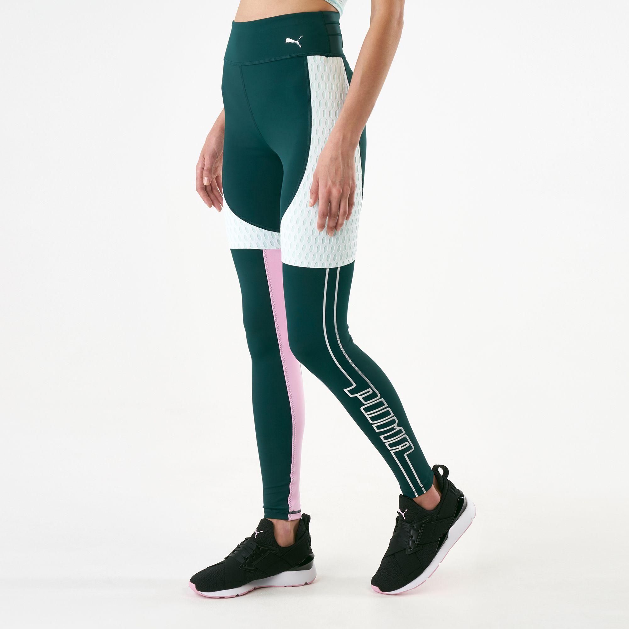 bästa leverantör Storbritannien tillgänglighet grossisthandlare PUMA Women's Cosmic TZ Leggings   Full Length Leggings   Leggings ...