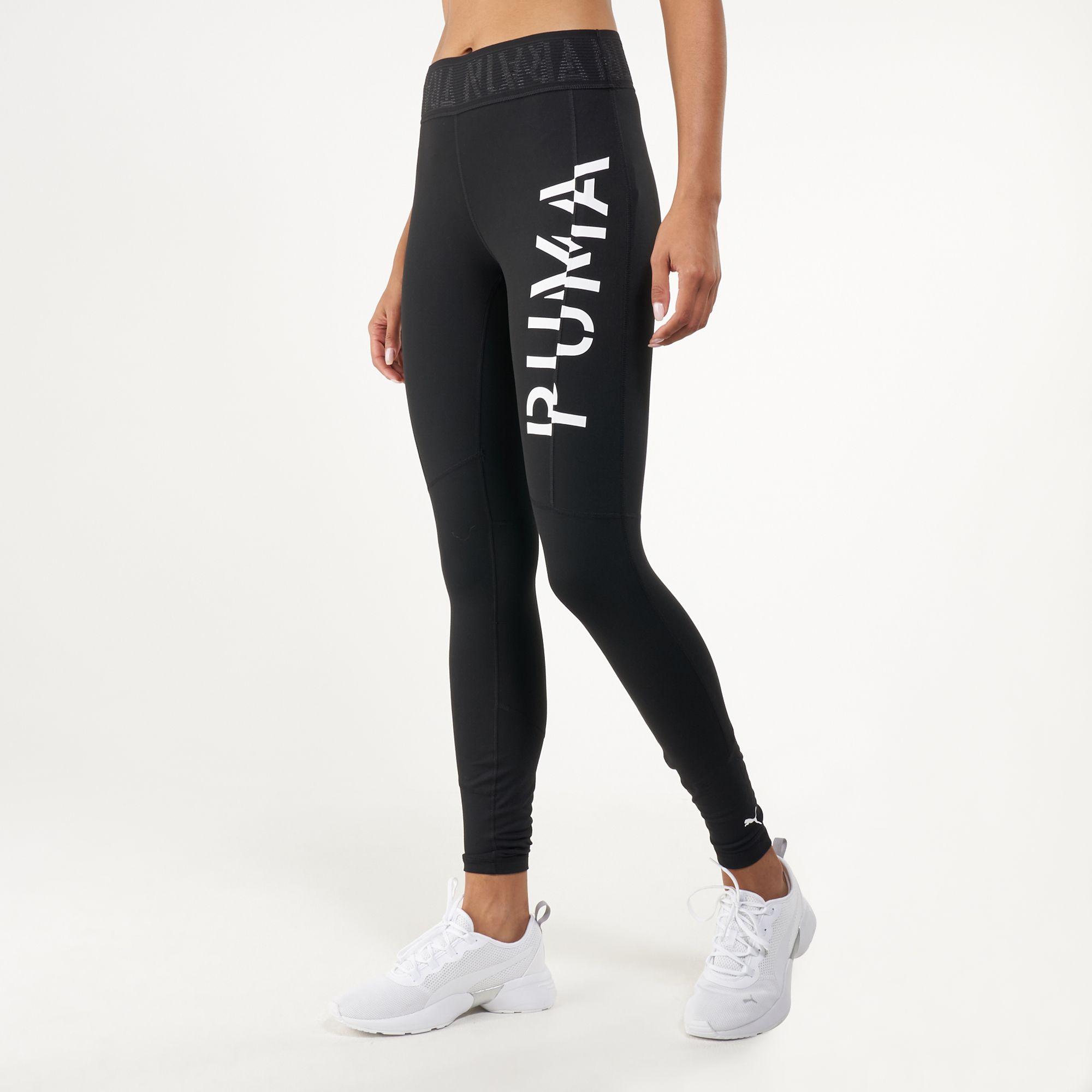 PUMA Women's 7/8 Logo Leggings