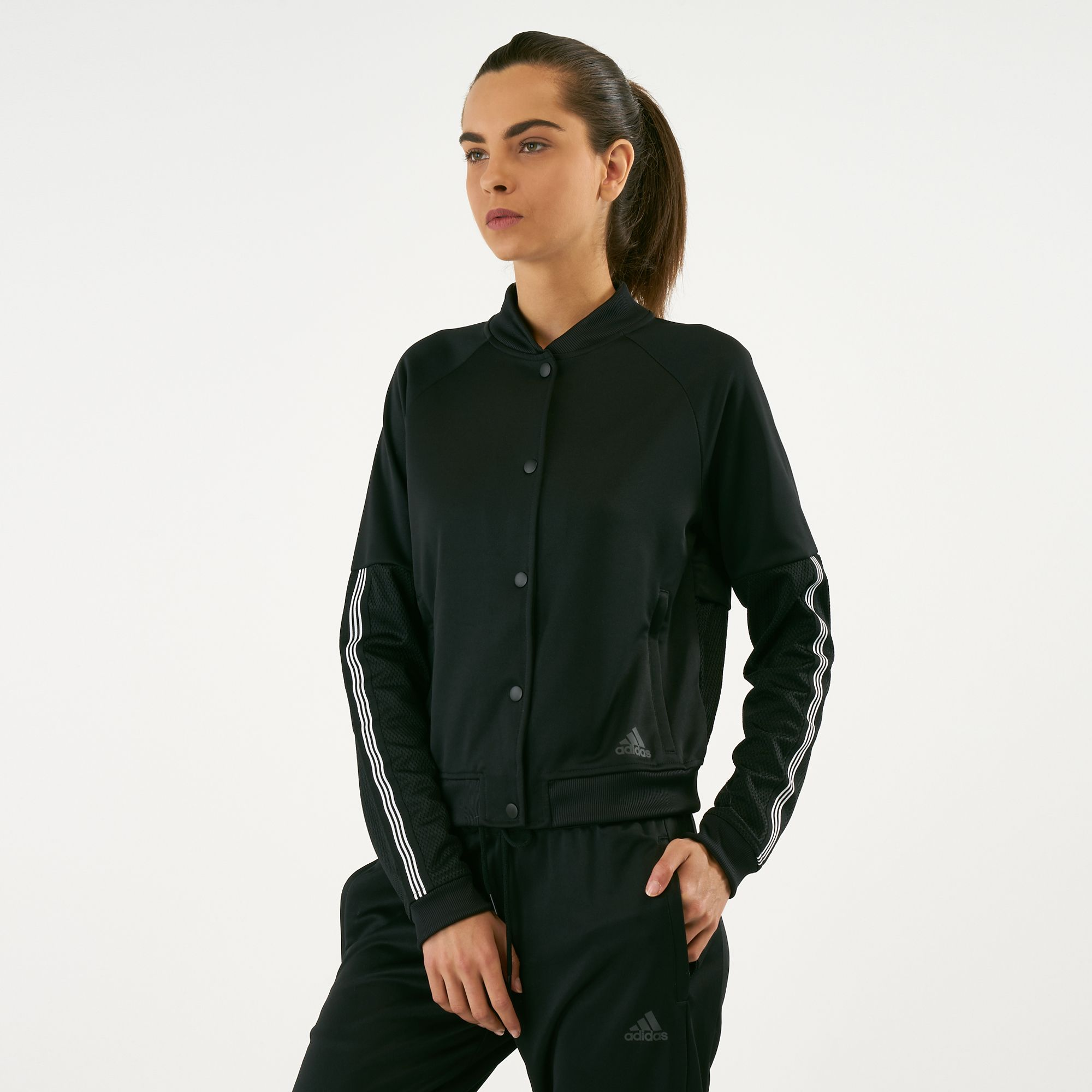 ab822fa1cd359 adidas Women's Snap Jacket | Track Jackets | Jackets | Clothing | Women's  Sale | Sale | SSS