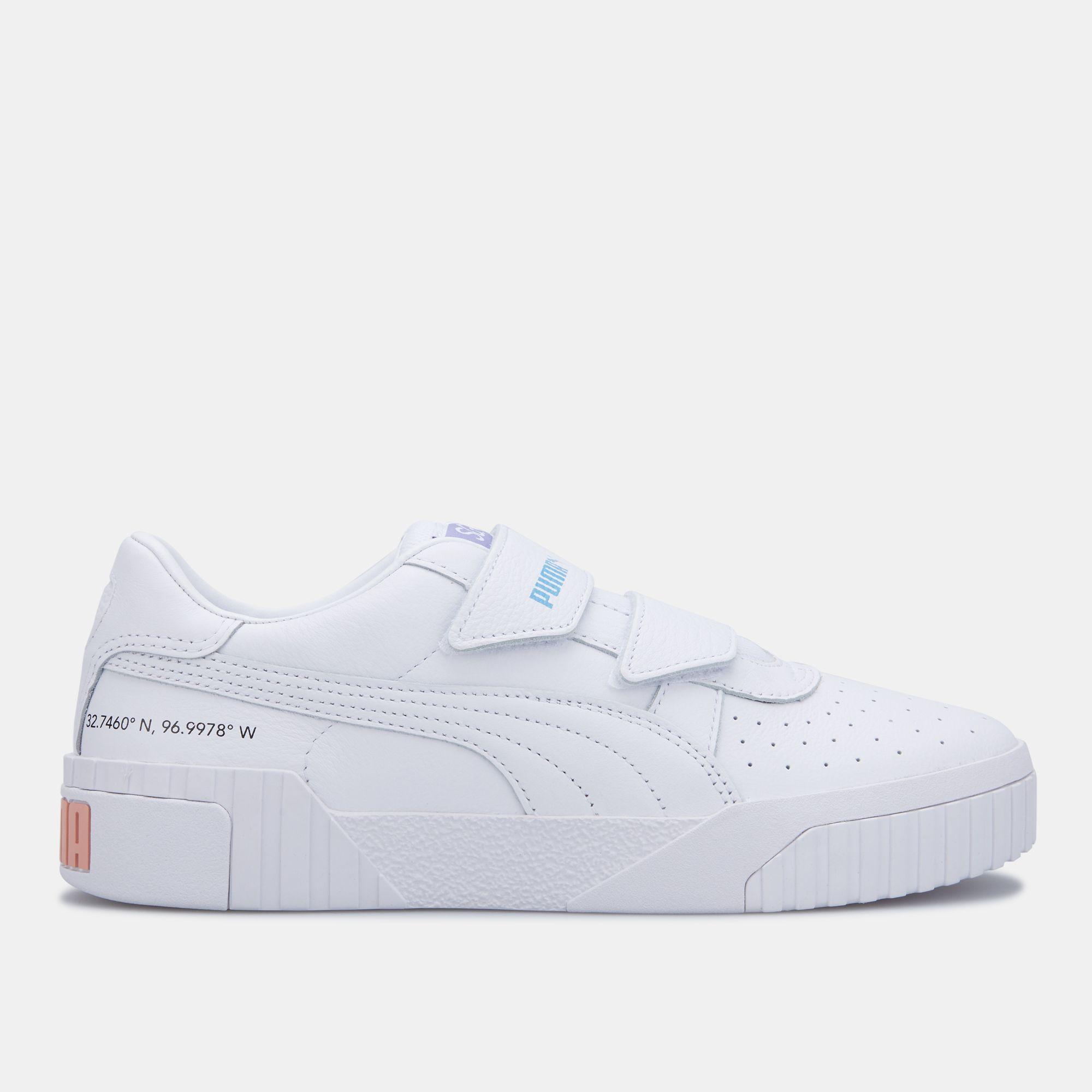 white puma velcro shoes Online Shopping
