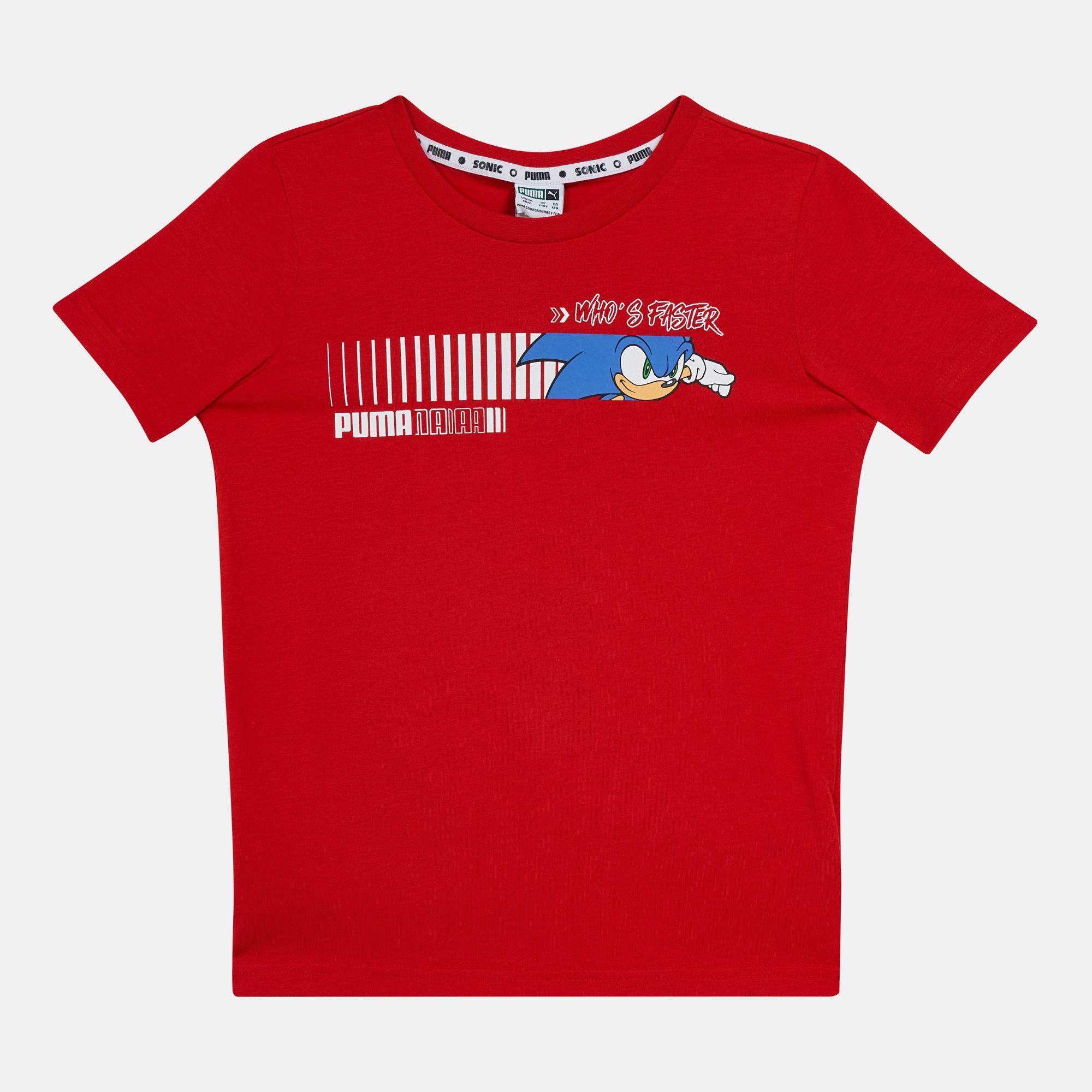 PUMA Kids' X SEGA Sonic T-Shirt (Older Kids)