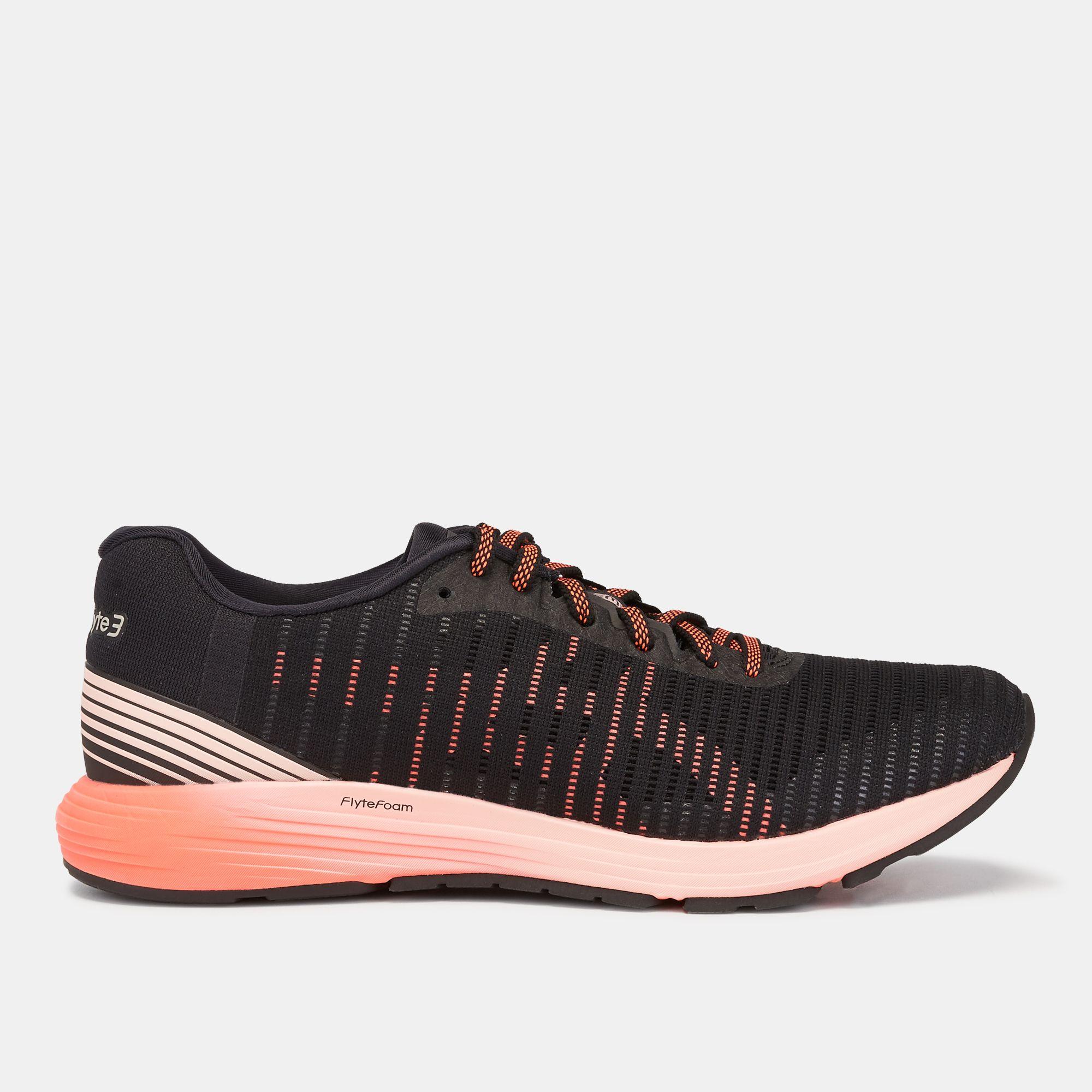 premium selection 7431d cc04a Shop Black Asics DynaFlyte 3 Shoe | Road Running | Running ...