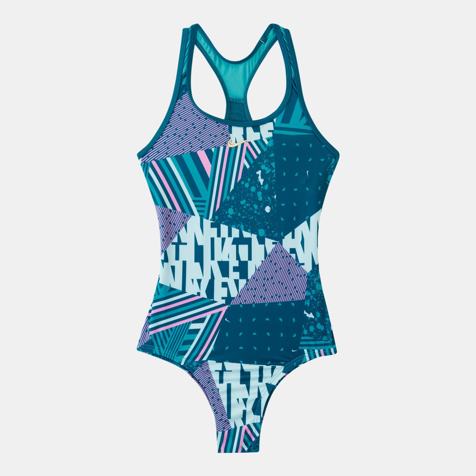 44385ec510ef2 Nike Kids' Make up Racerback One-Piece Swimsuit (Older Kids ...