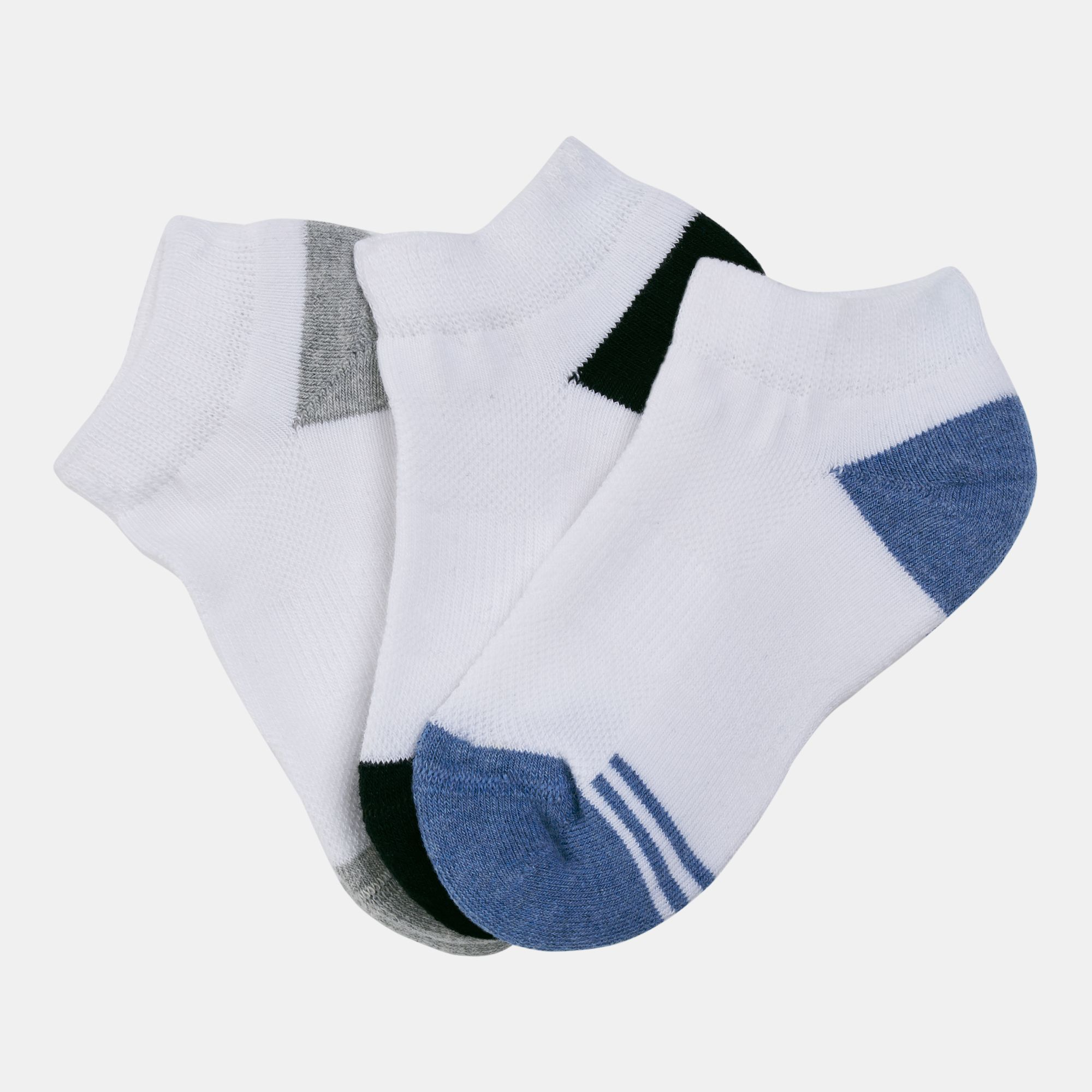 Sun and Sand Sports Kids' Socks (Younger Kids) - 3 Pack