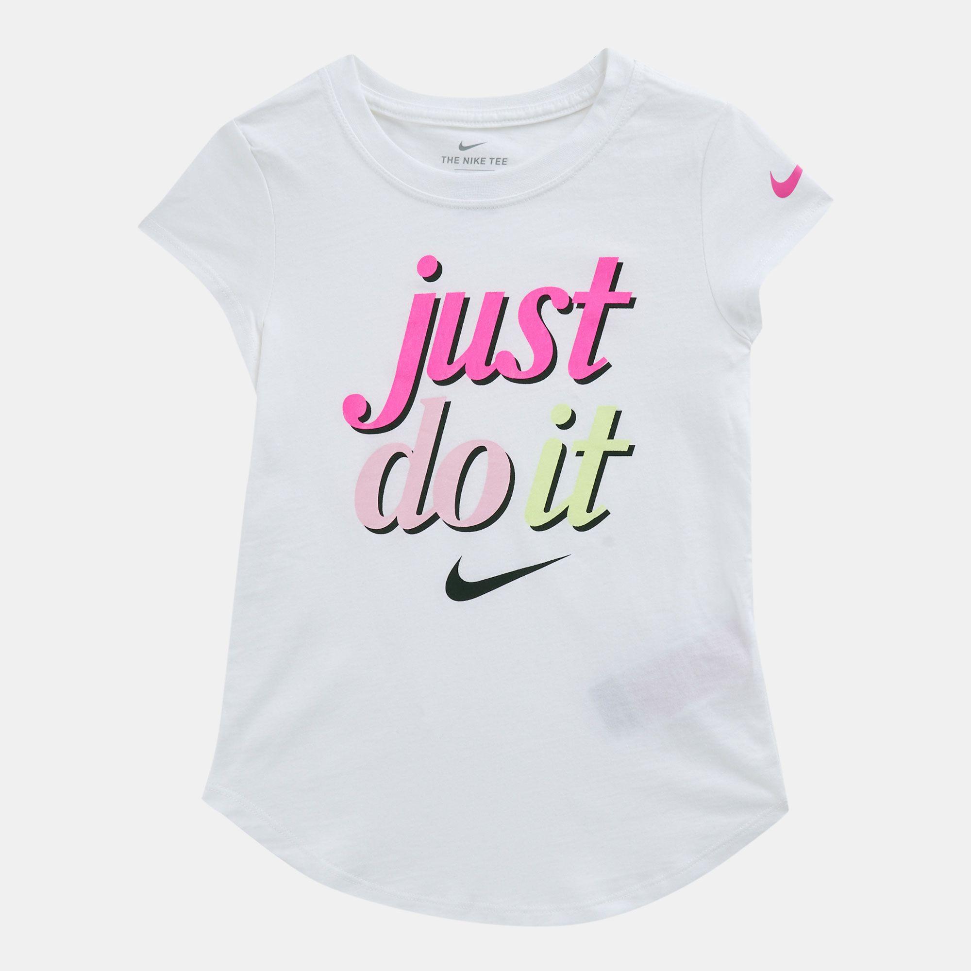 c9198b22 Nike Kids' Just Do It Script T-shirt (Younger Kids)