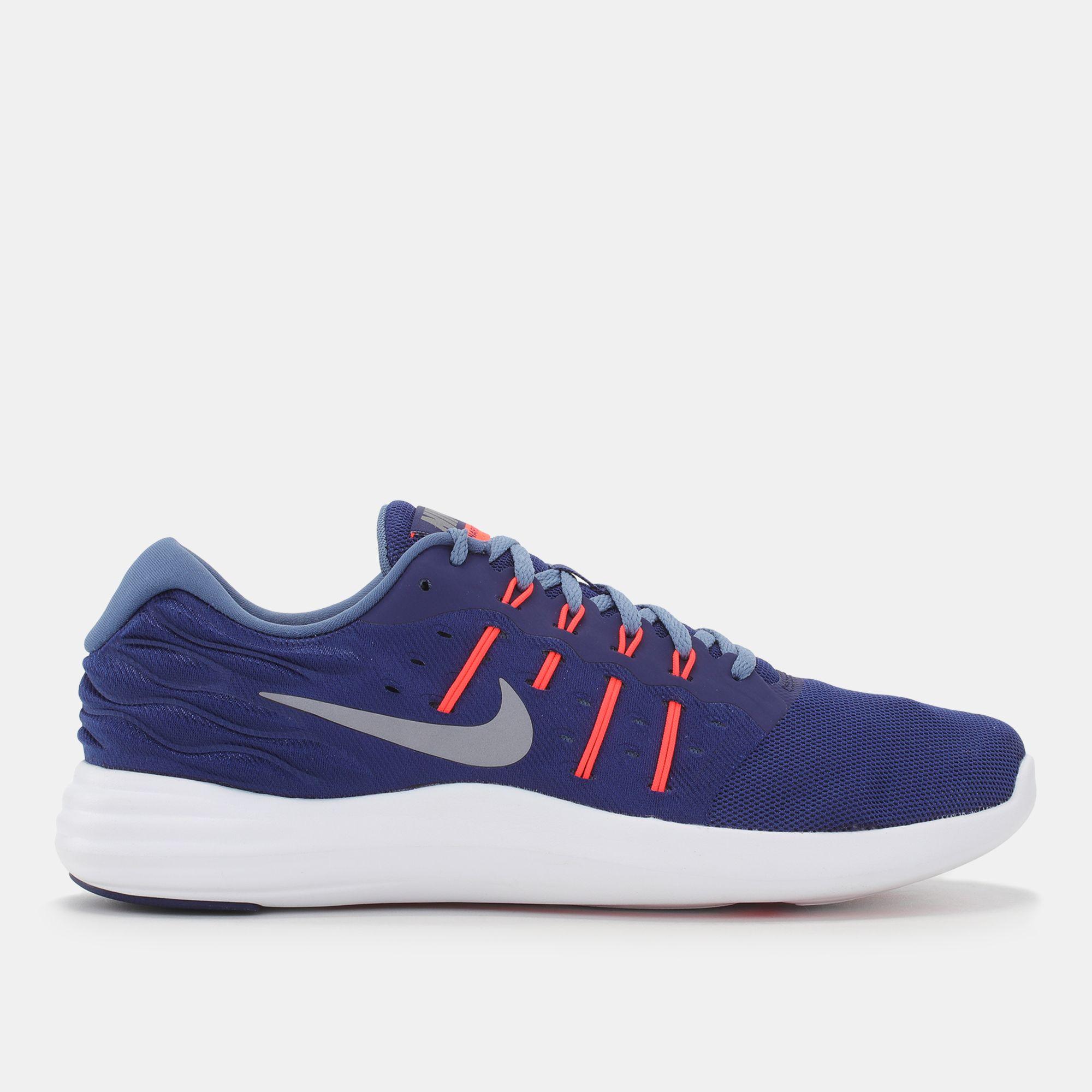 the latest ec70e 8a52b Shop Blue Nike Lunarstelos Running Shoe for Mens by Nike   SSS