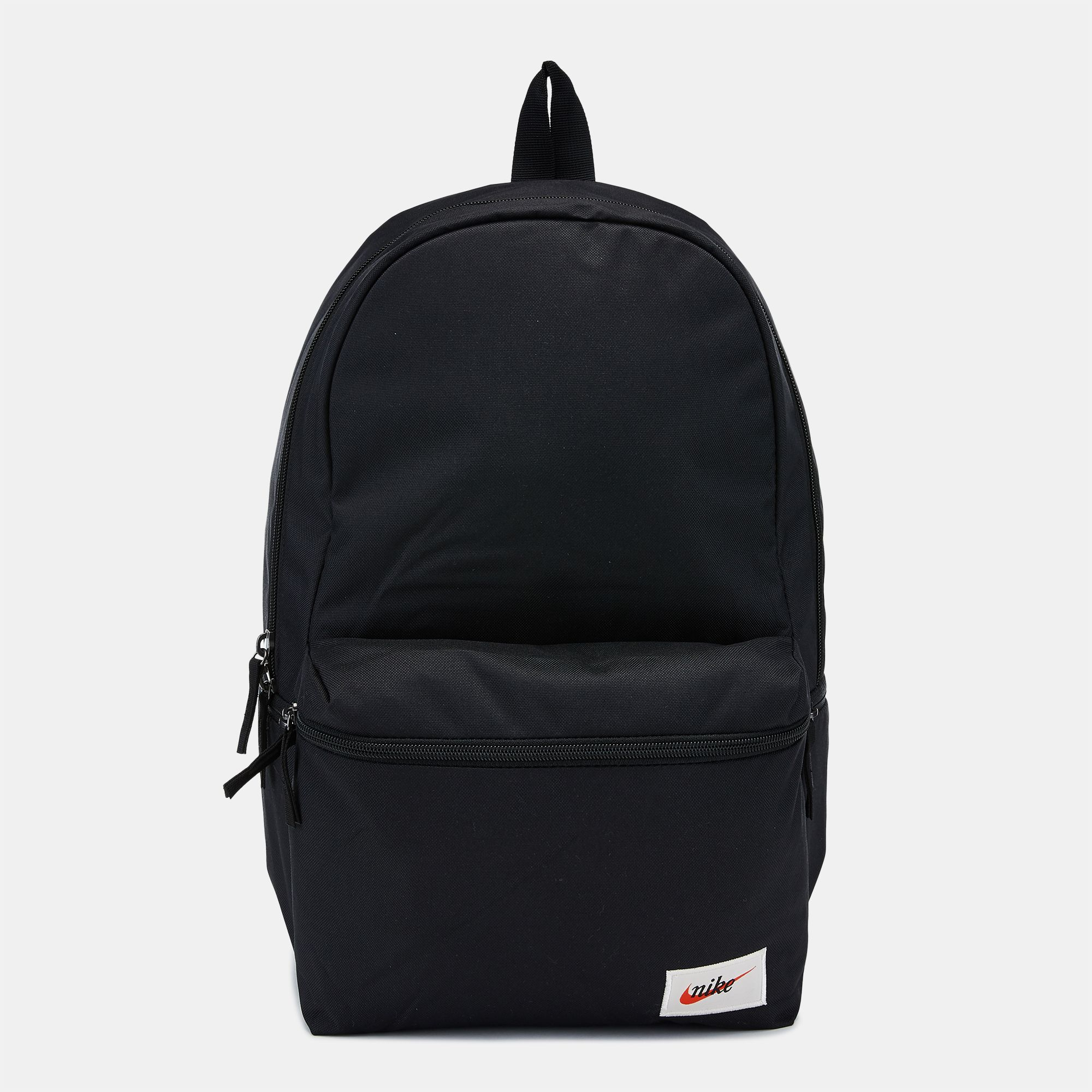 5633fe1fc71c0 Shop Black Nike Heritage Label Backpack