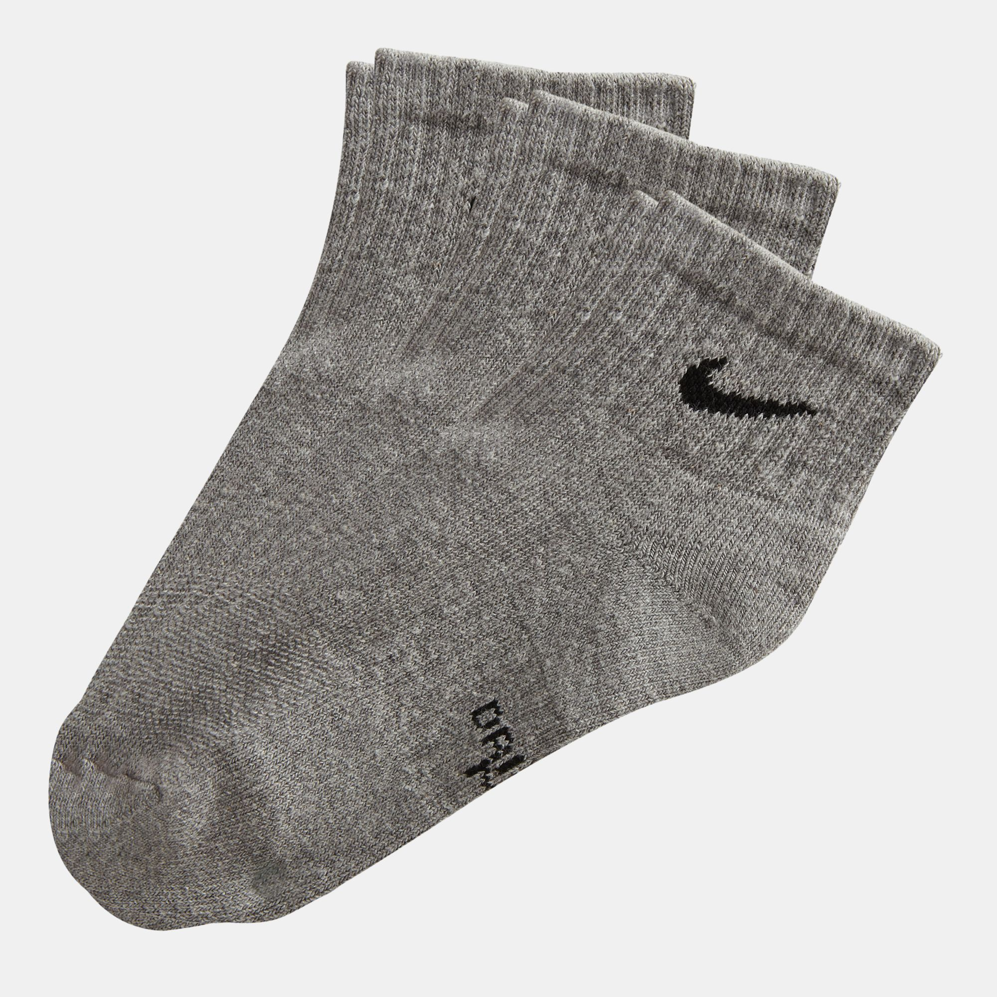 orden llegando comprar auténtico Nike Performance Cushioned Quarter Socks - 3 Pair | Socks ...