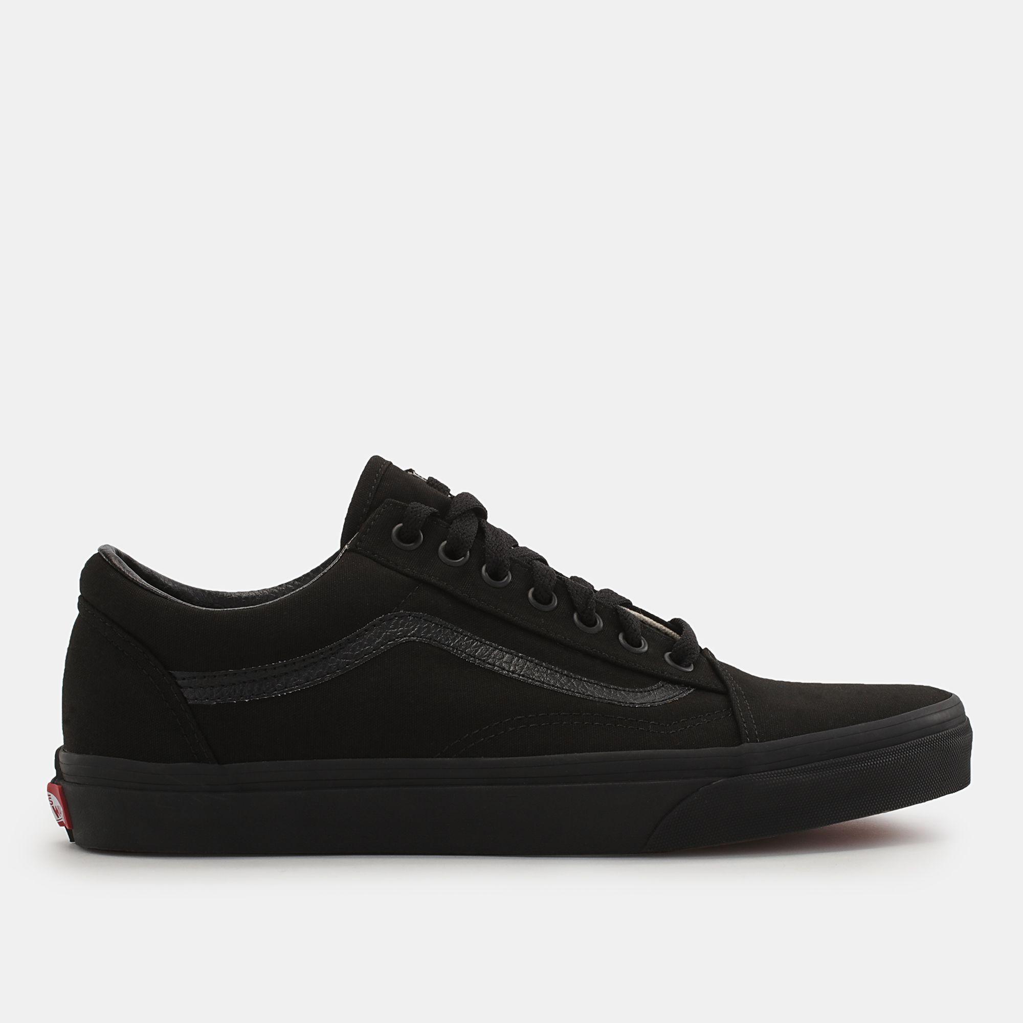 9992e770bc Shop Black Vans Canvas Old Skool Shoe for Unisex by Vans