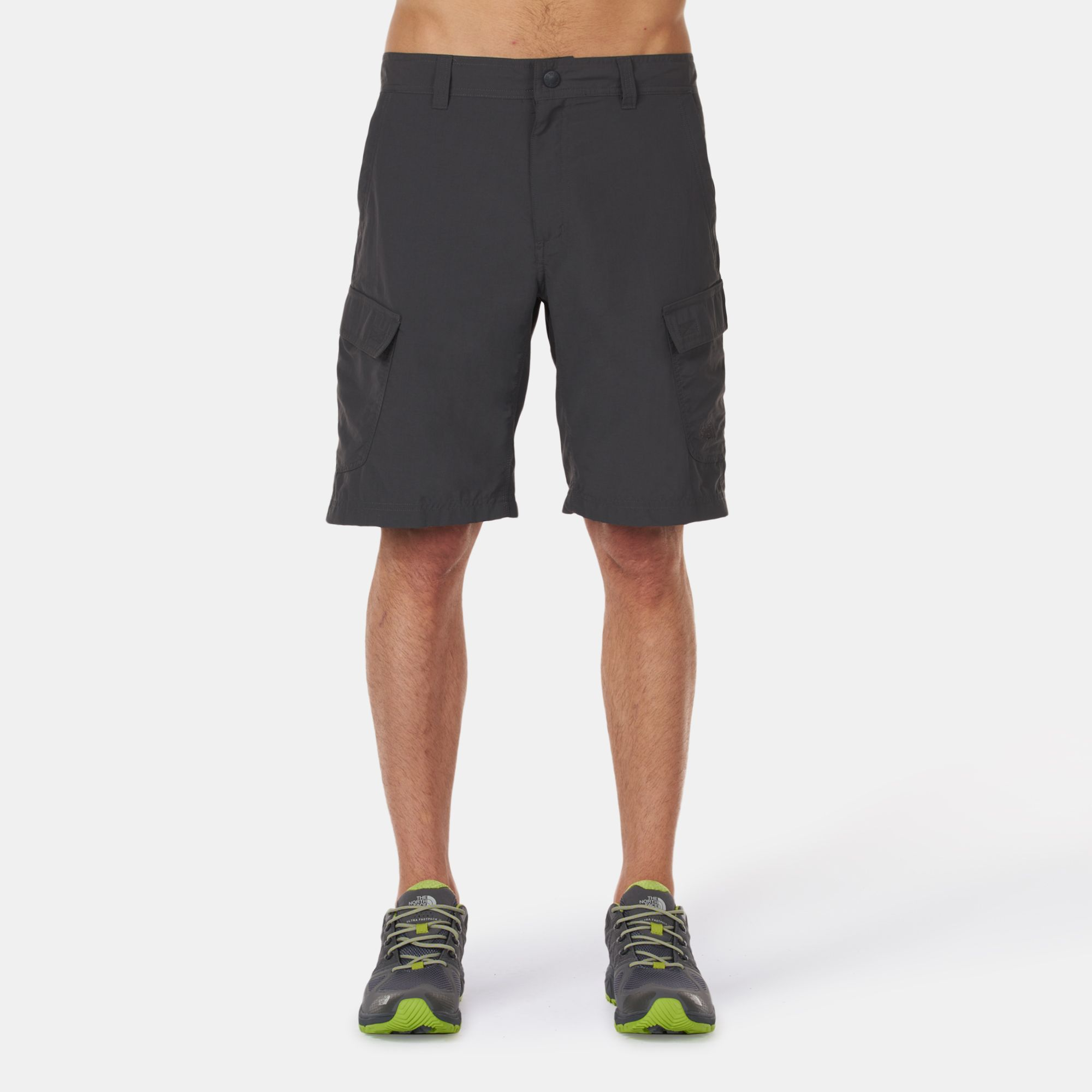81540b5f81 Shop Grey The North Face Horizon Cargo Shorts for Mens by The North ...