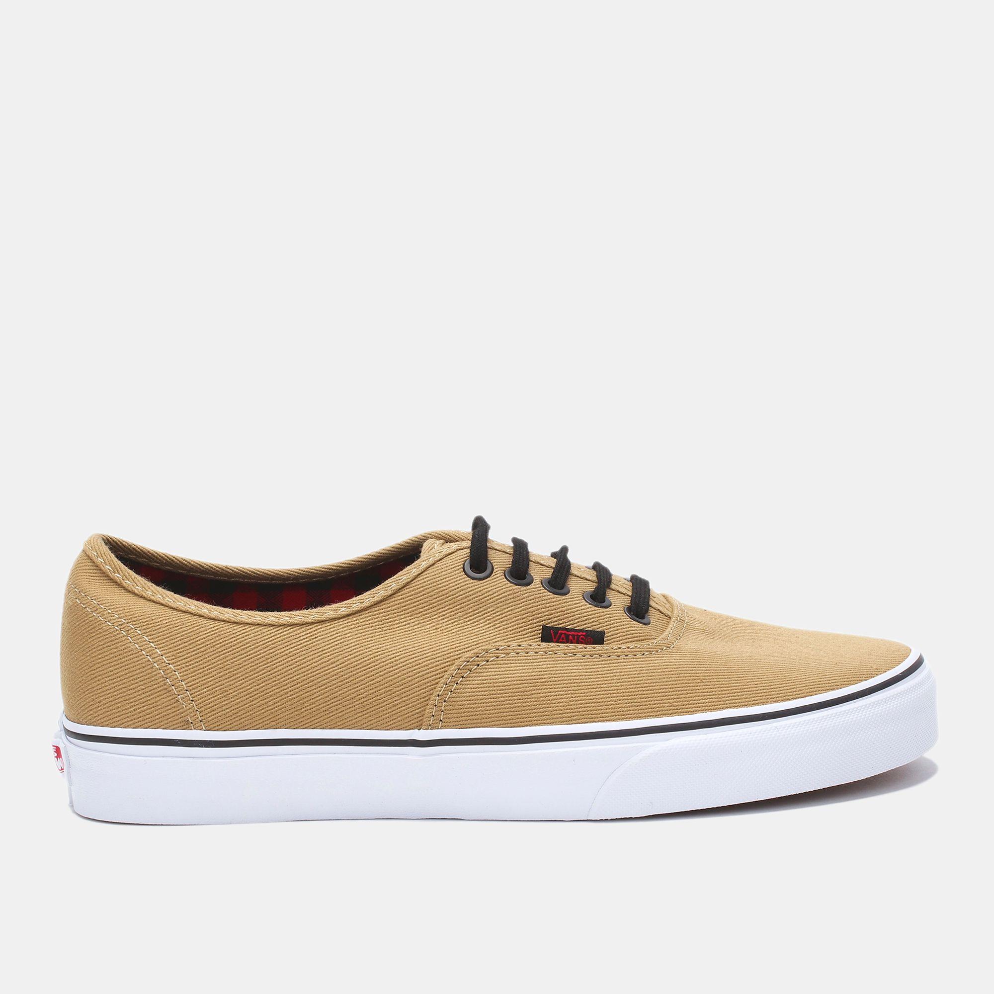 48adb9234 Shop بيج حذاء أوثنتِك من ڤانس for للرجال by Vans | سن أند ساند سبورتس