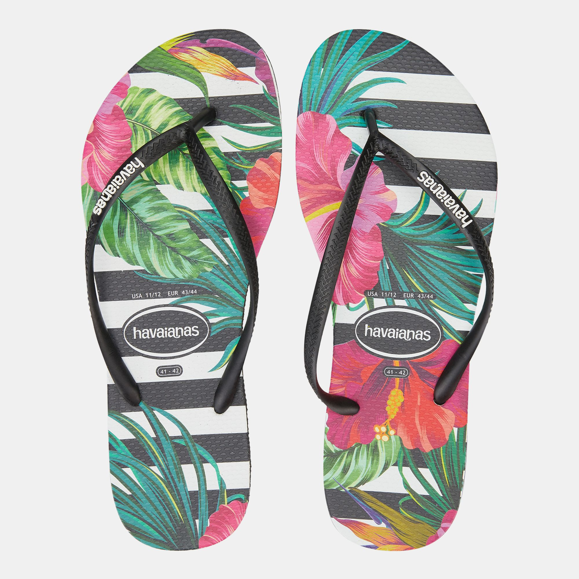 438a025f1800 Havaianas Kids  Slim Tropical Floral Flip Flops (Older Kids ...