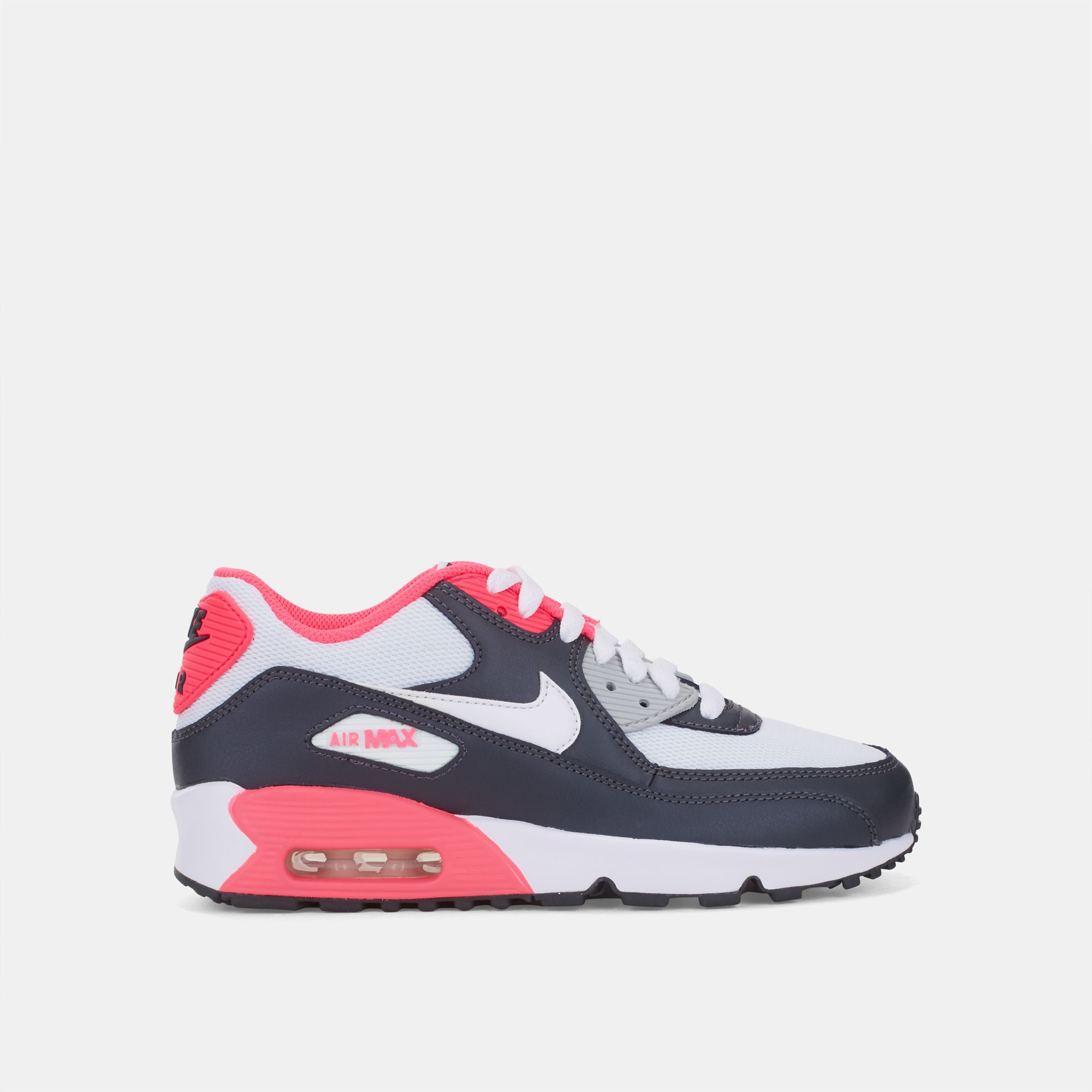 65a3440231 Shop Multi Nike Air Max 90 Mesh Grade School Shoe for Kids by Nike | SSS